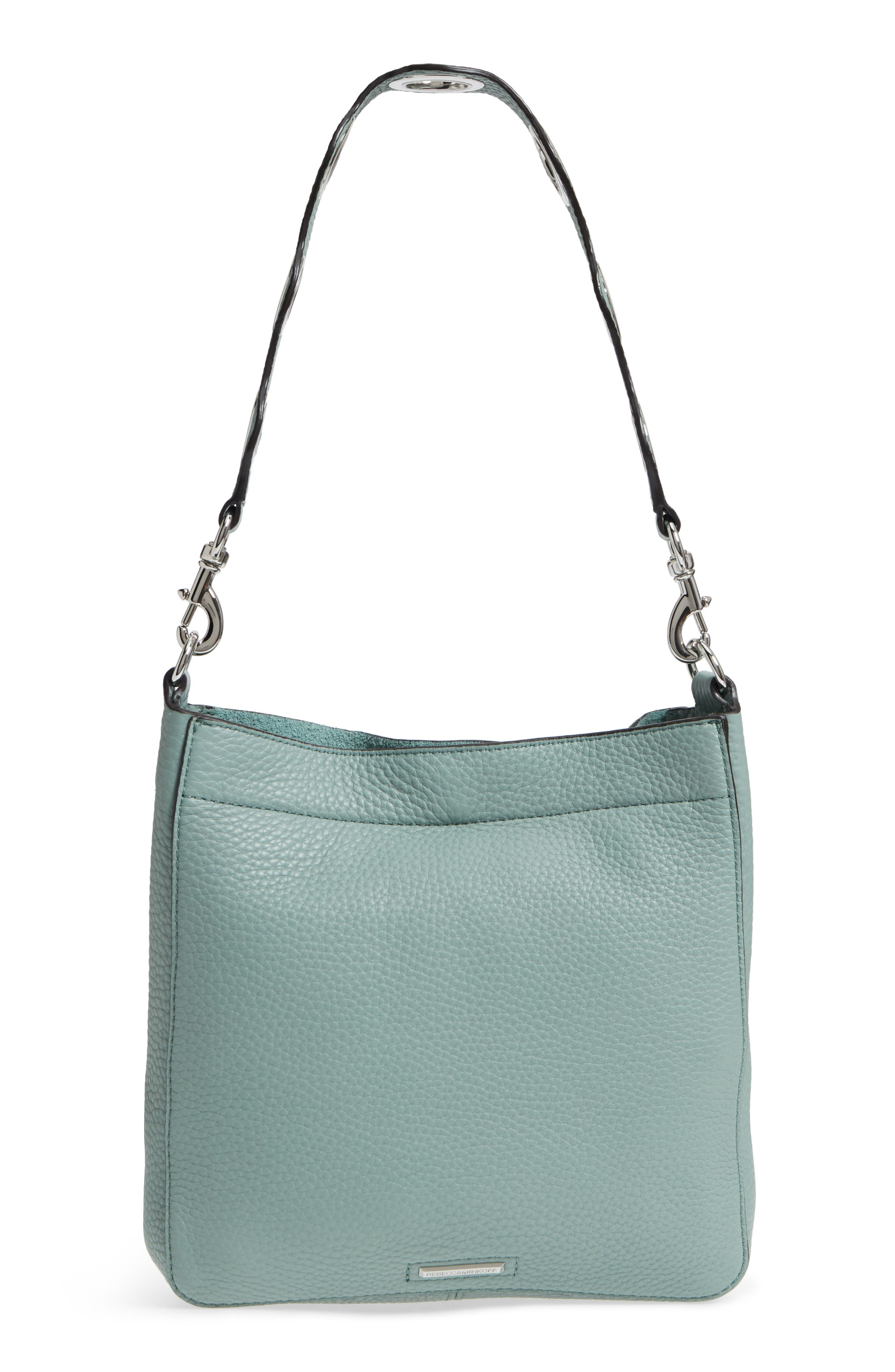 Alternate Image 3  - Rebecca Minkoff Small Darren Deerskin Leather Feed Bag