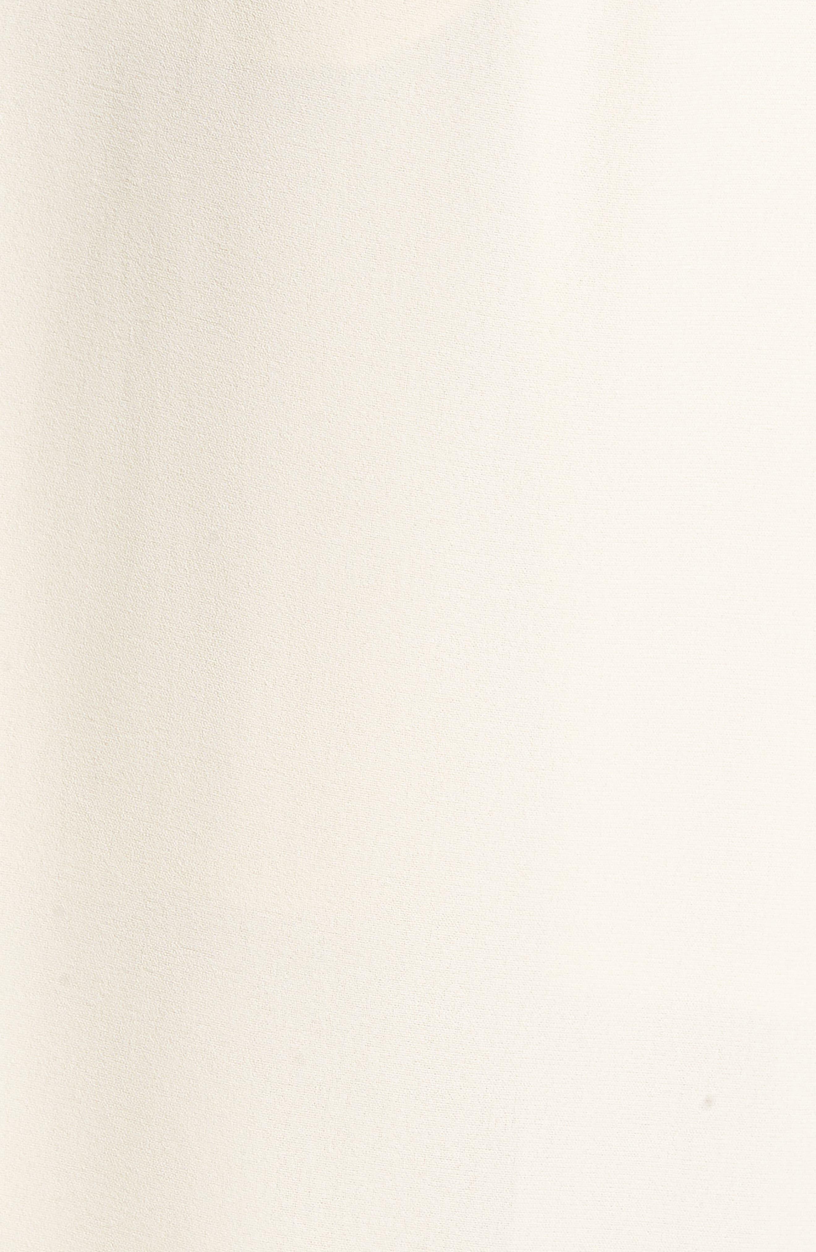 Alternate Image 8  - Chriselle x J.O.A. Pleat High Waist Crop Wide Leg Pants