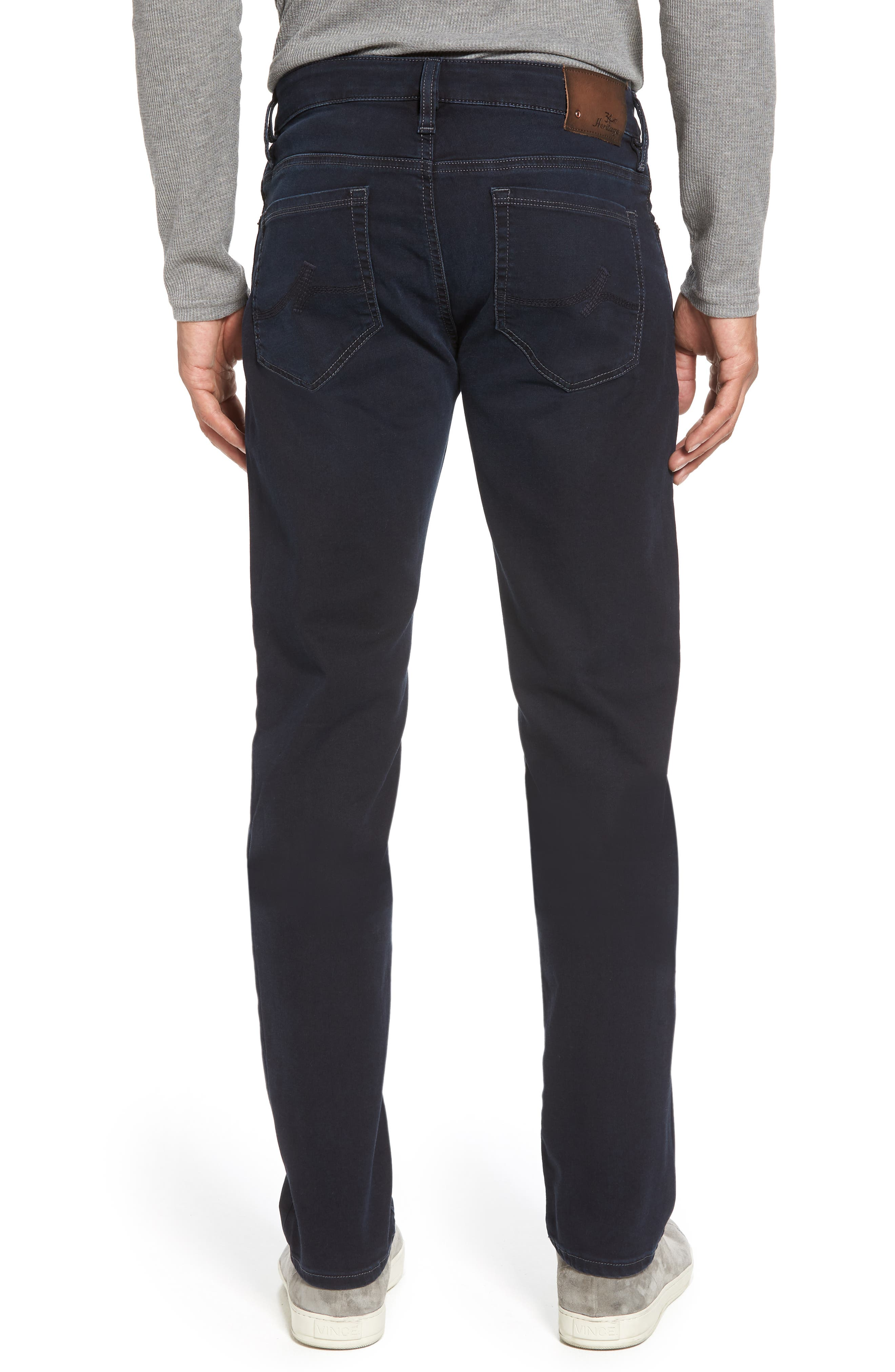 Cool Slim Straight Leg Jeans,                             Alternate thumbnail 2, color,                             Midnight Austin