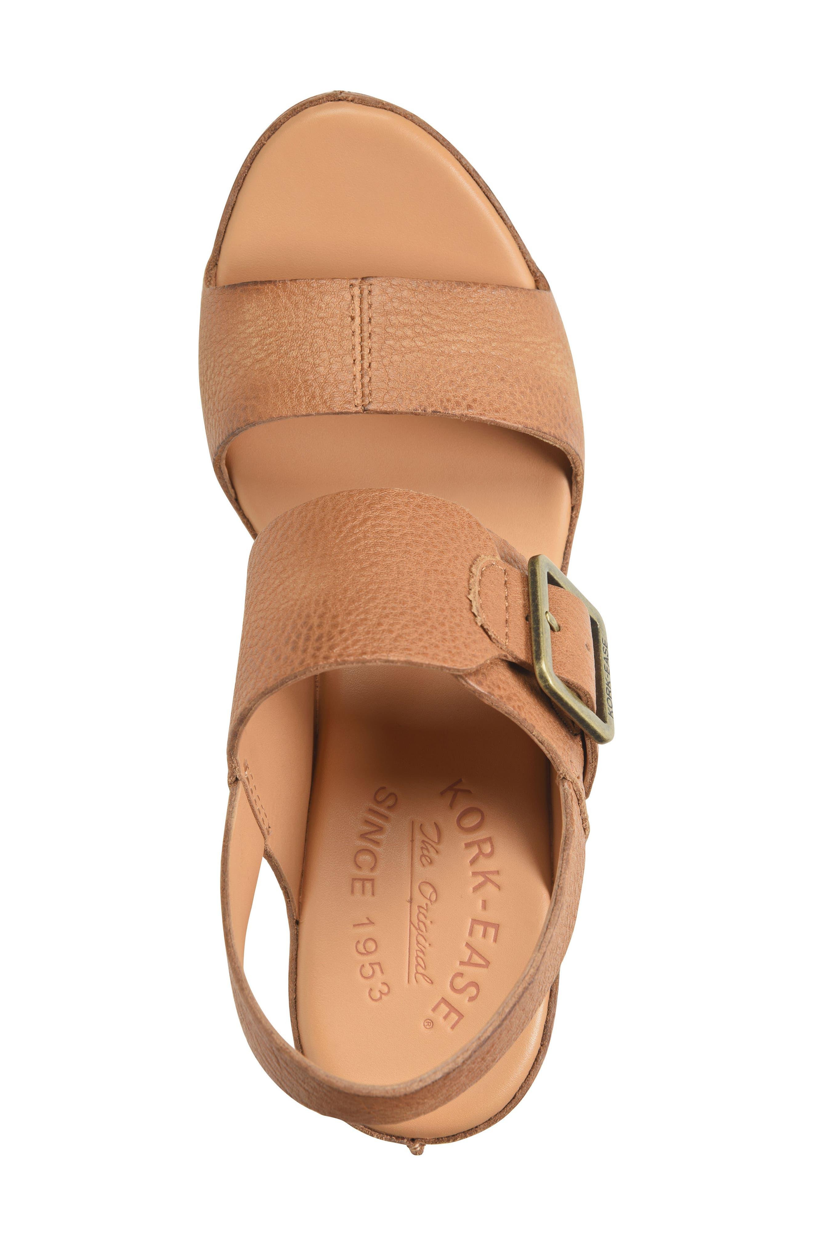 Alternate Image 5  - Kork-Ease® San Carlos Platform Sandal (Women)