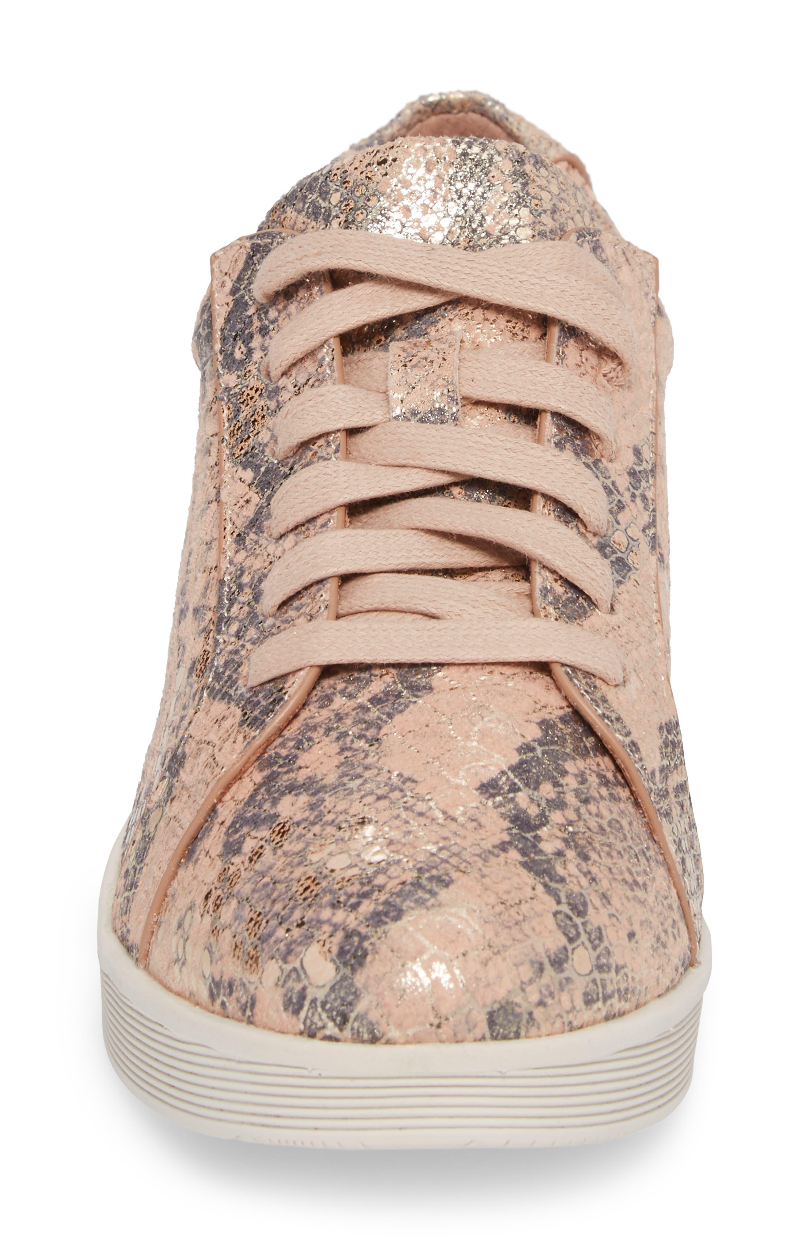 Alternate Image 4  - Gentle Souls Haddie Low Platform Sneaker (Women)