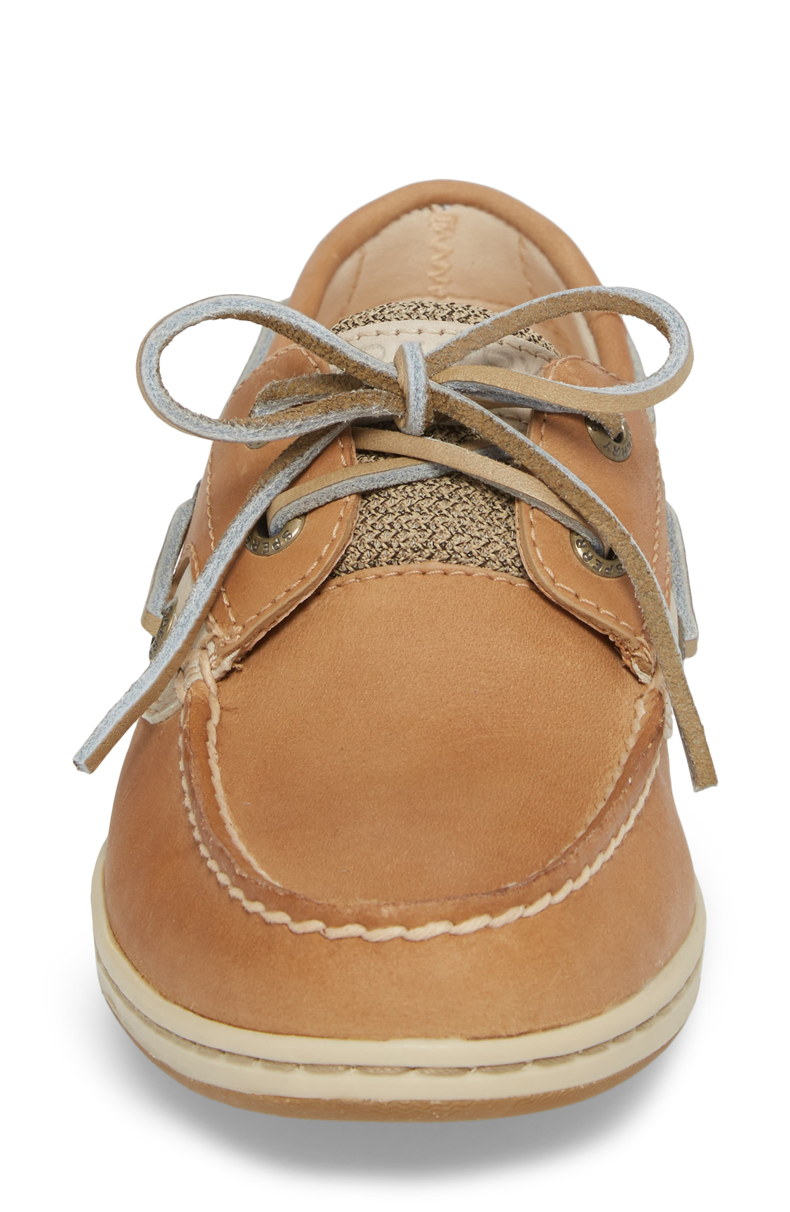 Top-Sider Koifish Loafer,                             Alternate thumbnail 4, color,                             Linen Oat Leather