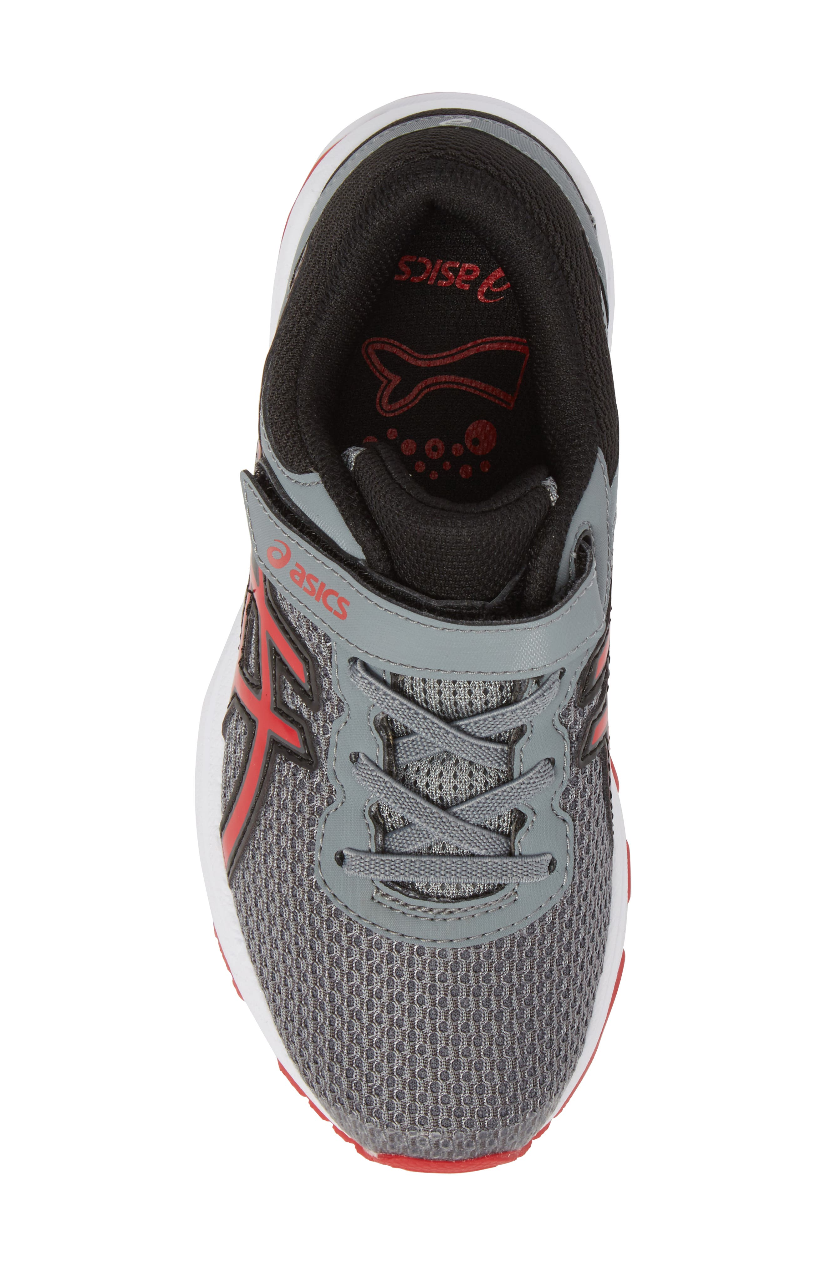 Asics GT-1000<sup>™</sup> 6 PS Sneaker,                             Alternate thumbnail 5, color,                             Stone Grey/ Classic Red/ Black