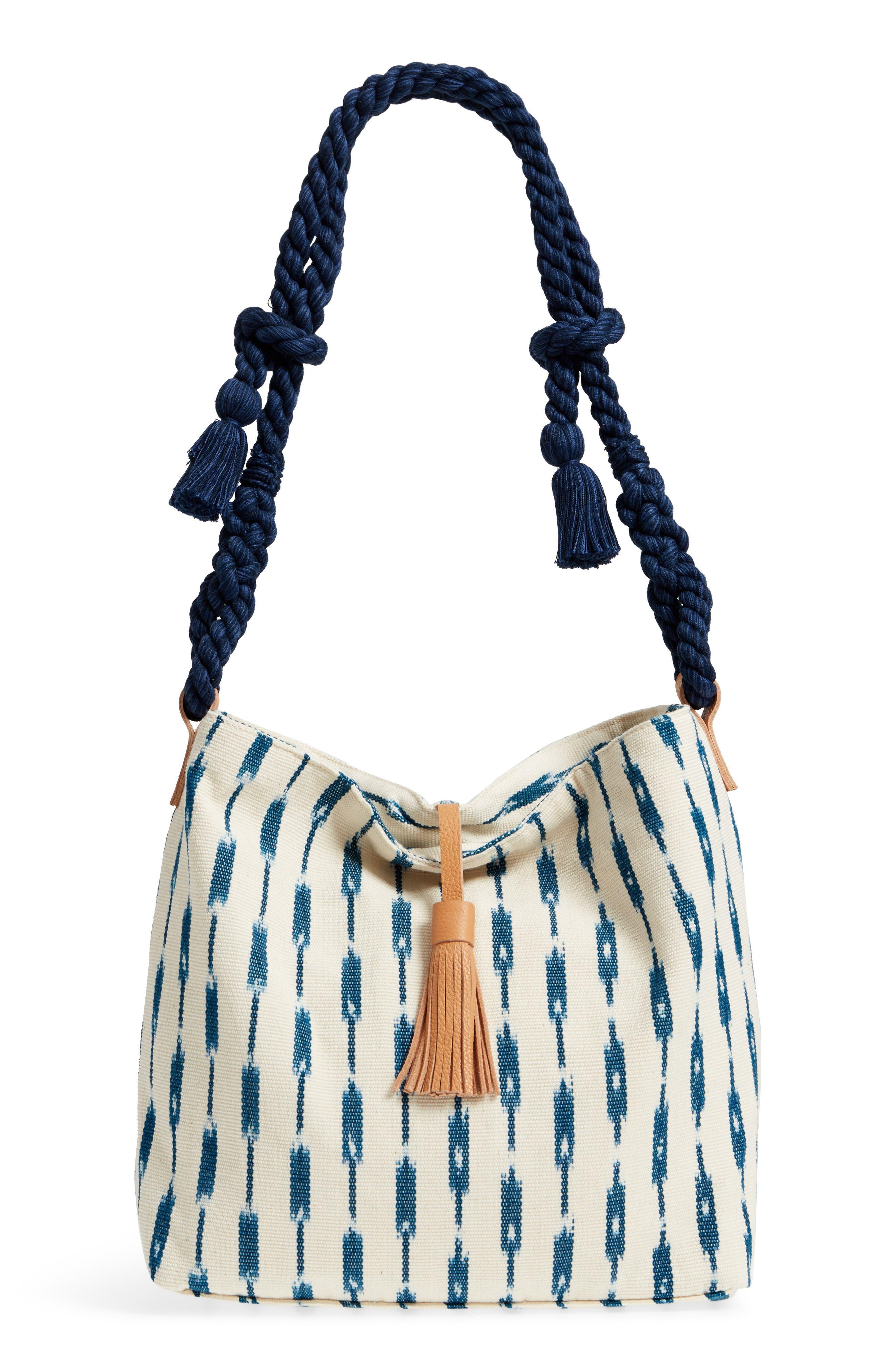 Rafaells Hobo Bag,                         Main,                         color, Indigo Jaspe