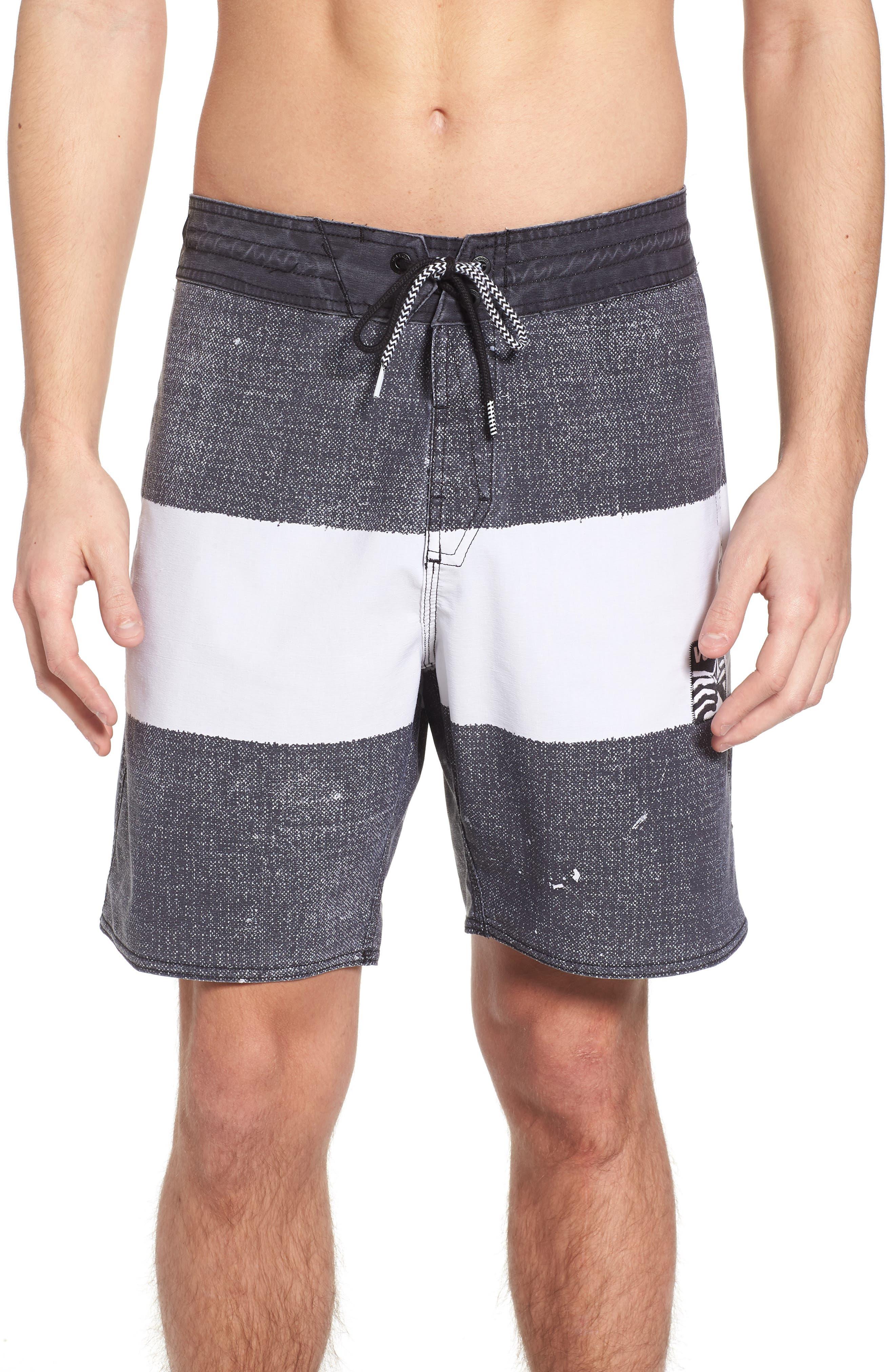 Balbroa Stoney Board Shorts,                         Main,                         color, Stealth