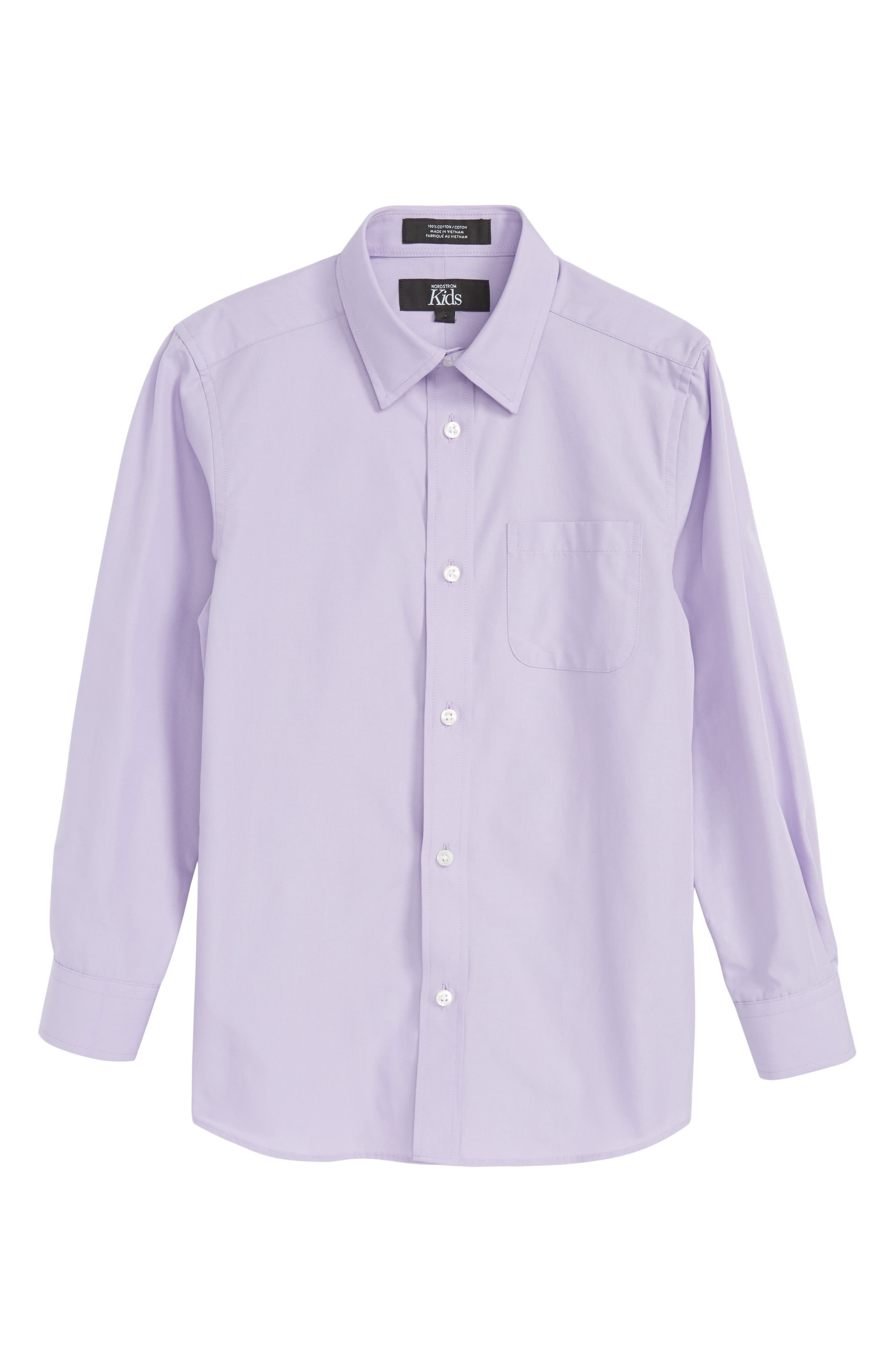 Lavender Spray Sport Shirt,                             Main thumbnail 1, color,                             Lavender Spray