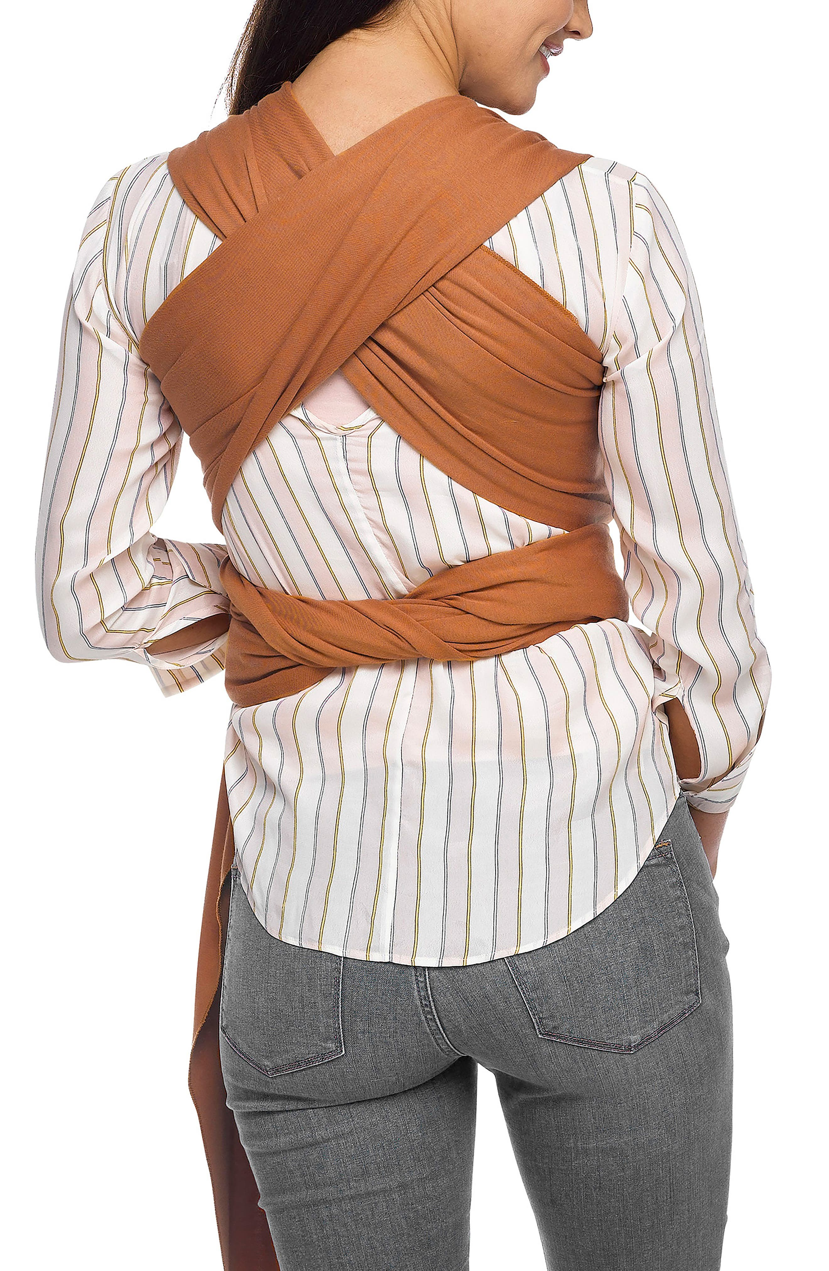 Wrap Baby Carrier,                             Alternate thumbnail 2, color,                             Caramel