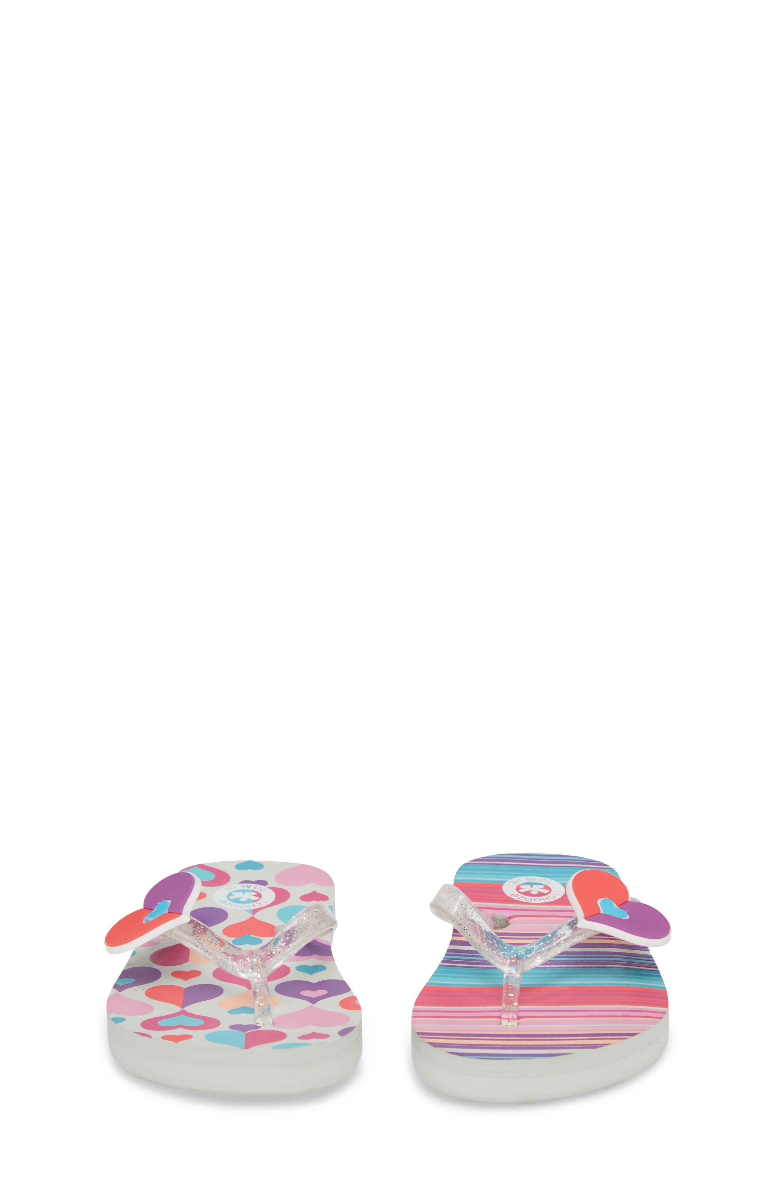Alternate Image 5  - CHOOZE Print Flip Flop (Toddler, Little Kid & Big Kid)