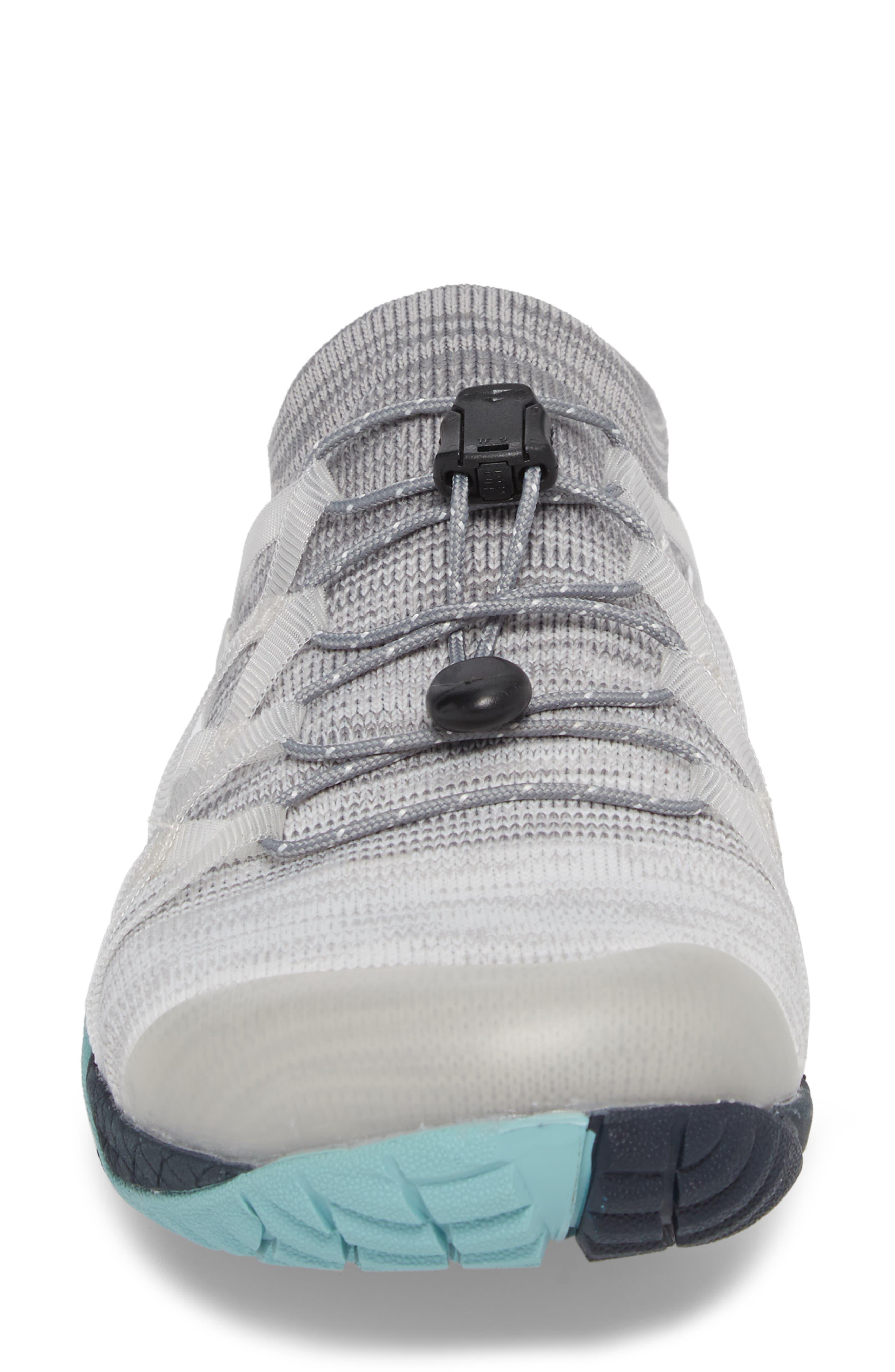 Trail Glove 4 Knit Running Shoe,                             Alternate thumbnail 4, color,                             Vapor