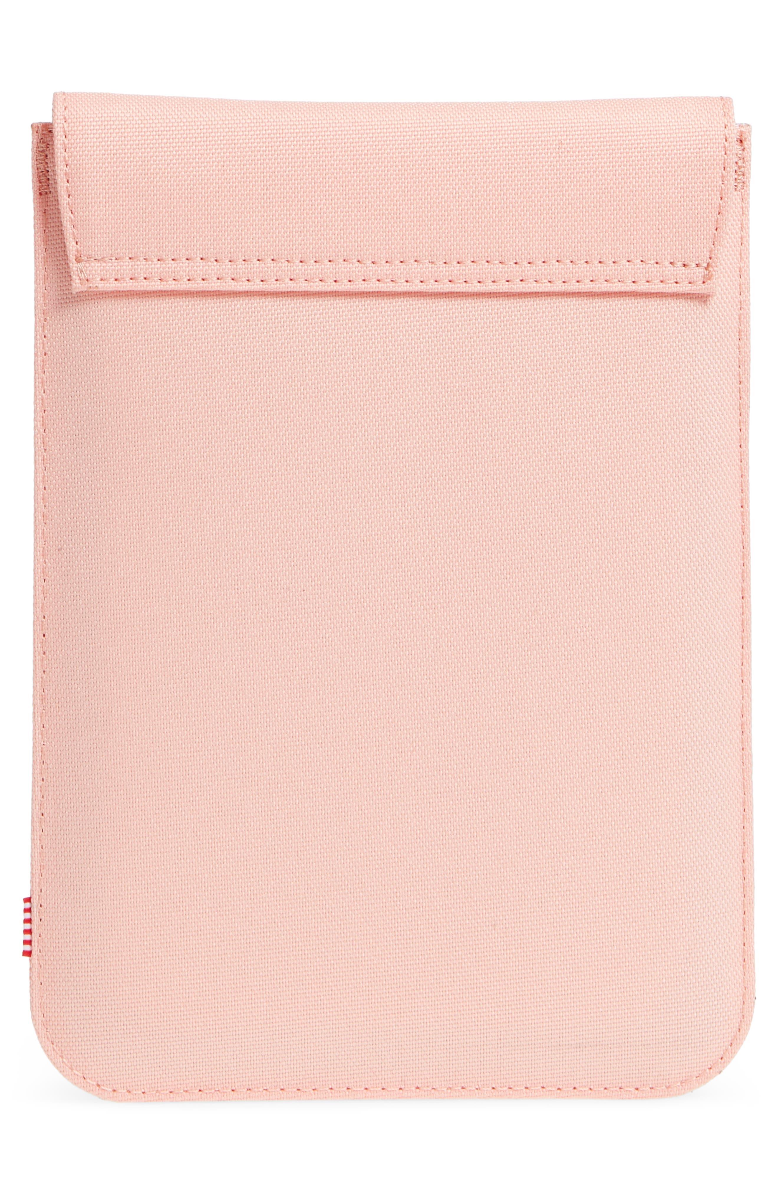 Spokane iPad Mini Canvas Sleeve,                             Alternate thumbnail 2, color,                             Peach