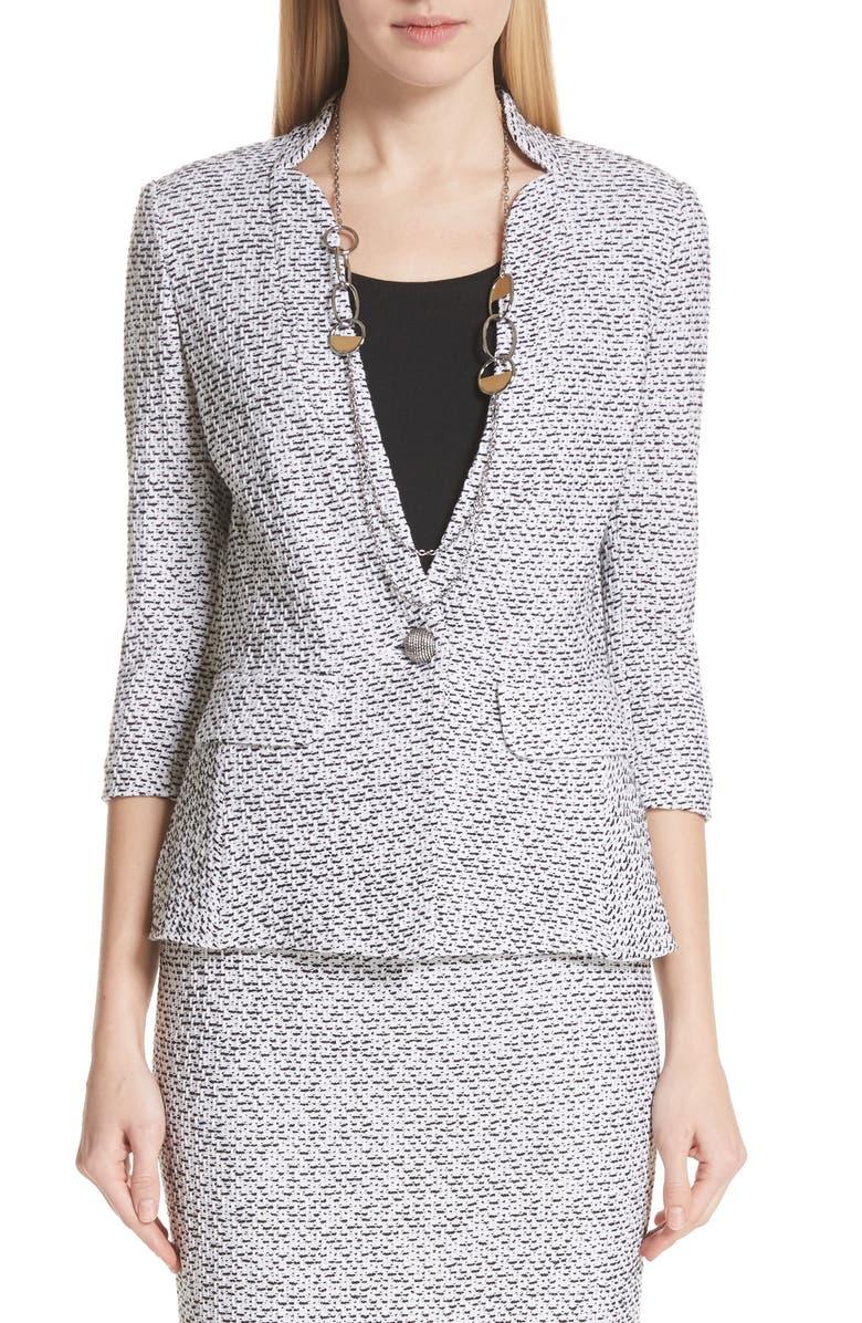 Olivia Boucle Knit Jacket