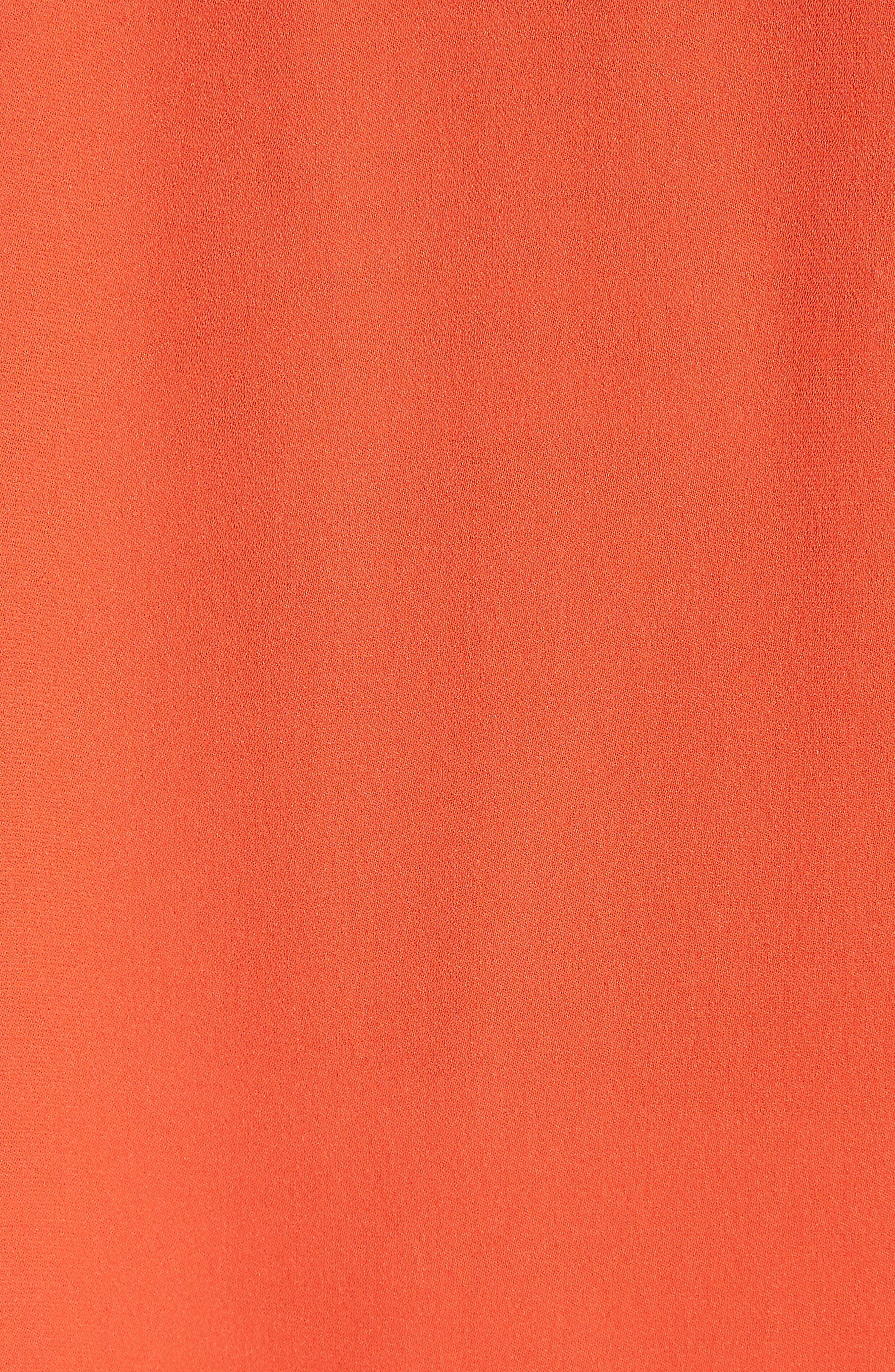 Oceae Silk Tank Top,                             Alternate thumbnail 5, color,                             Salsa