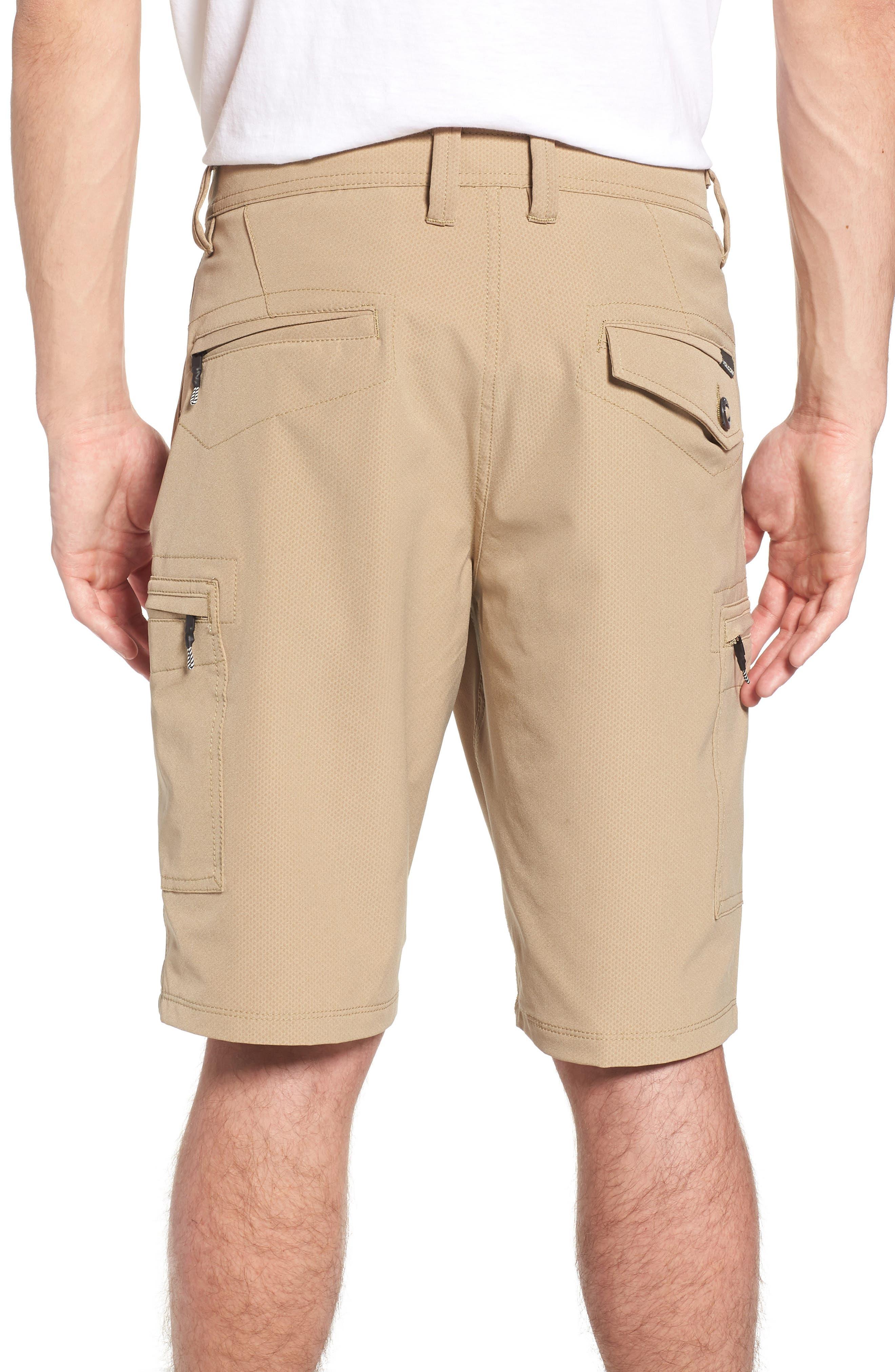 Surf N' Turf Dry Cargo Hybrid Shorts,                             Alternate thumbnail 2, color,                             Khaki