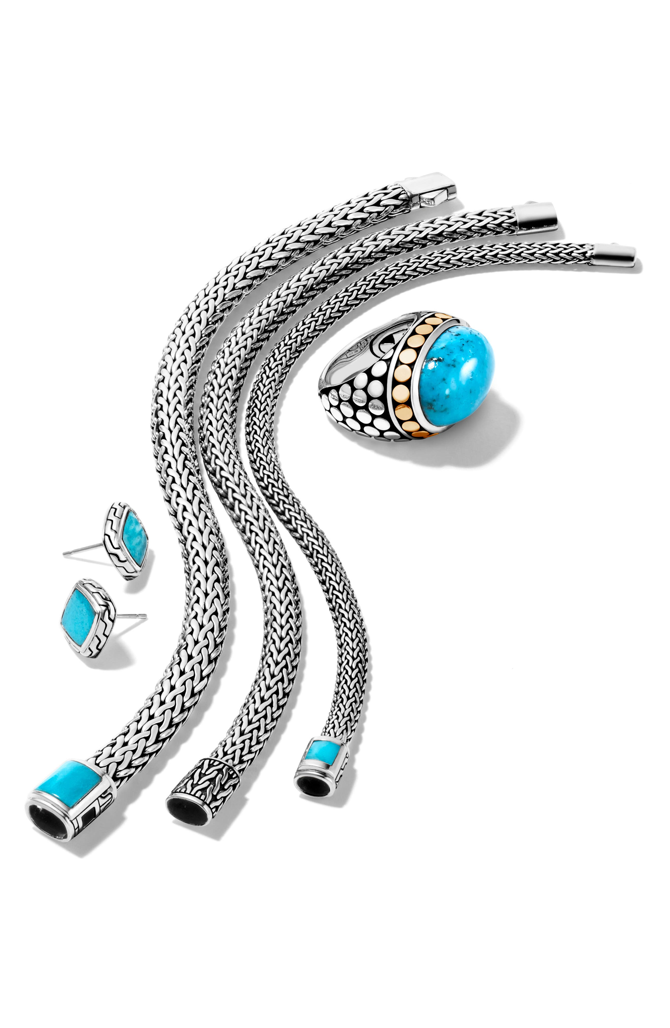 Kali Classic Chain Bracelet,                             Alternate thumbnail 3, color,                             Silver