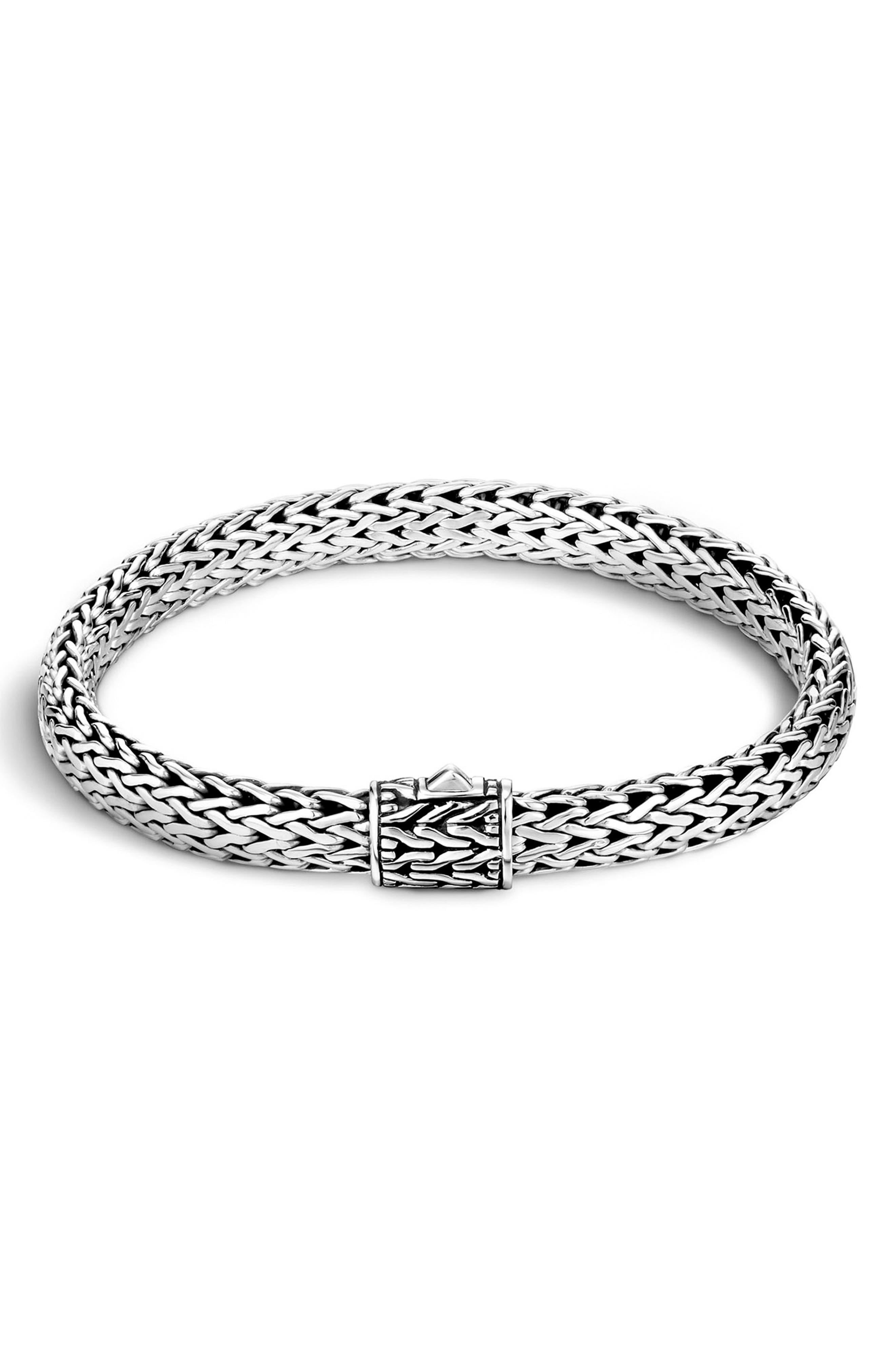 Kali Classic Chain Bracelet,                         Main,                         color, Silver