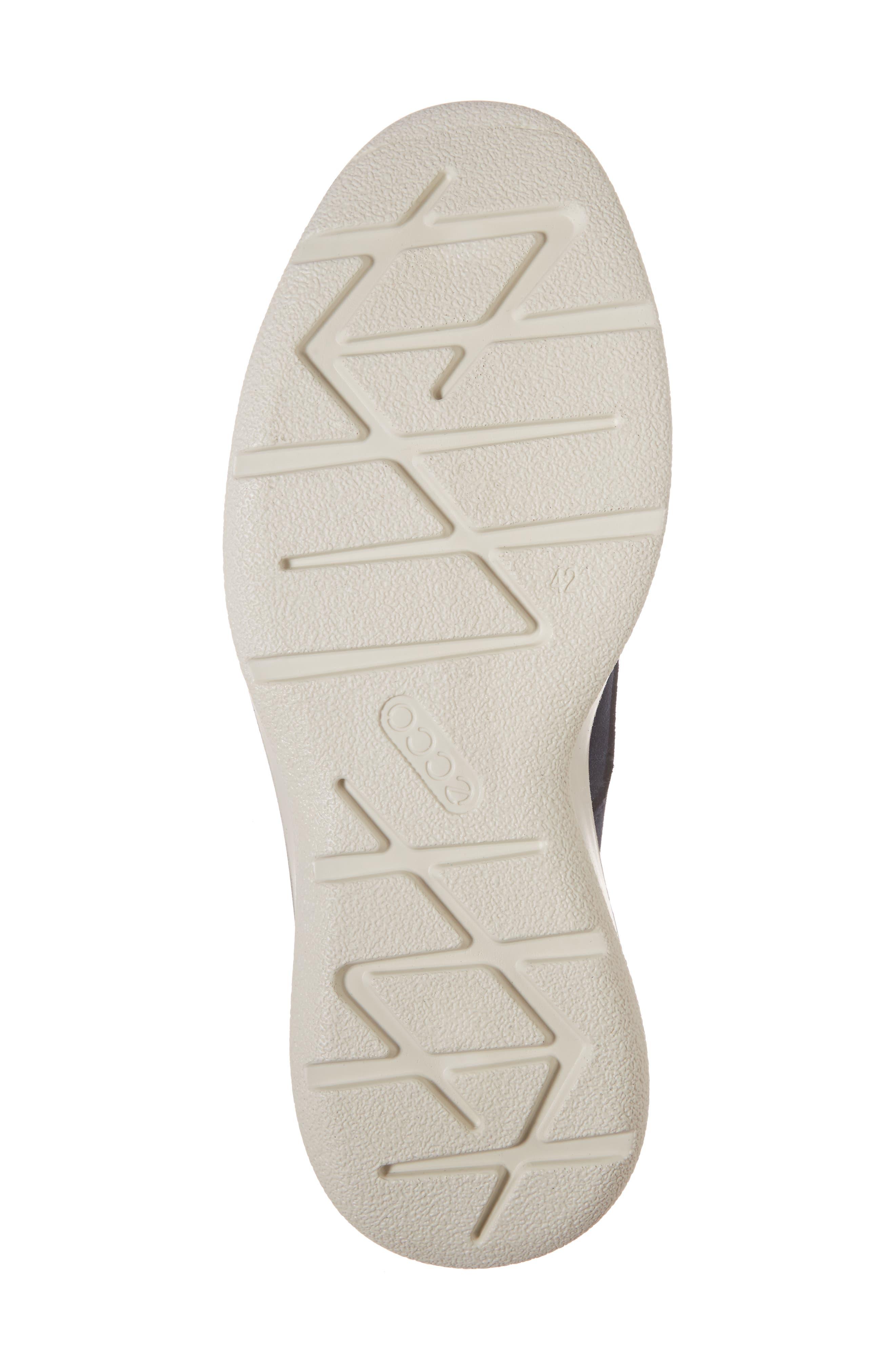 Aurora Hybrid Plain Toe Derby,                             Alternate thumbnail 6, color,                             Marine Leather
