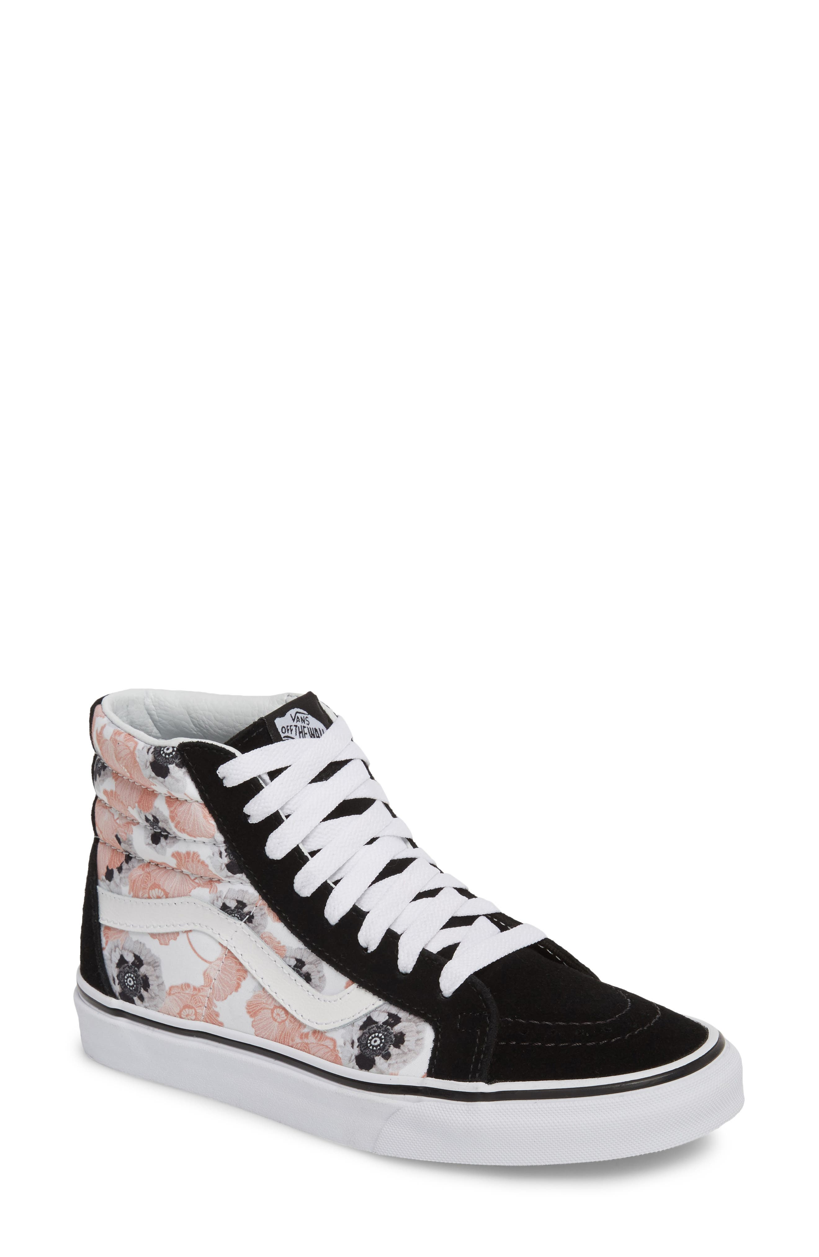 white leather vans womens