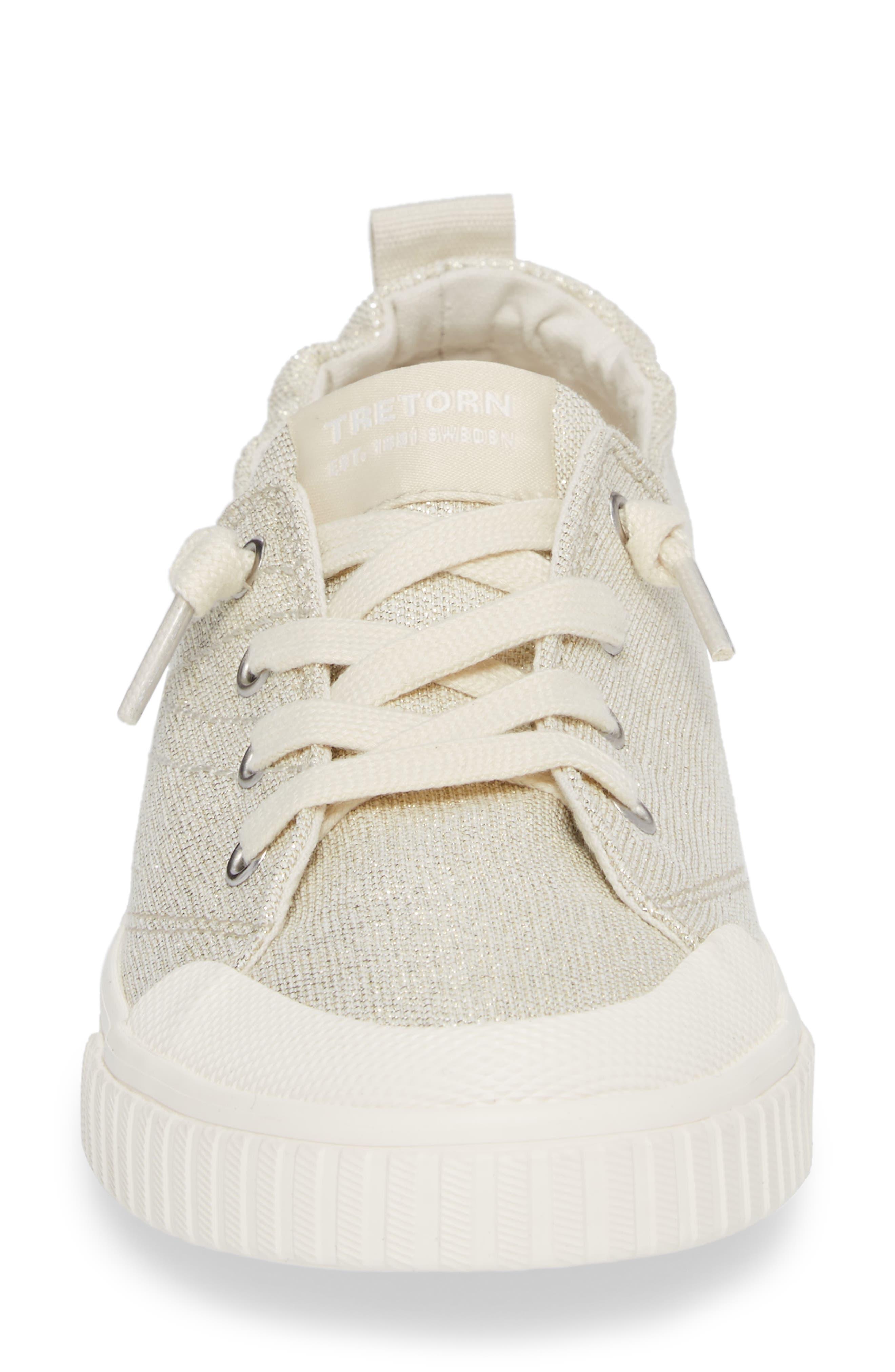 Meg Slip-On Sneaker,                             Alternate thumbnail 3, color,                             Angora/ White
