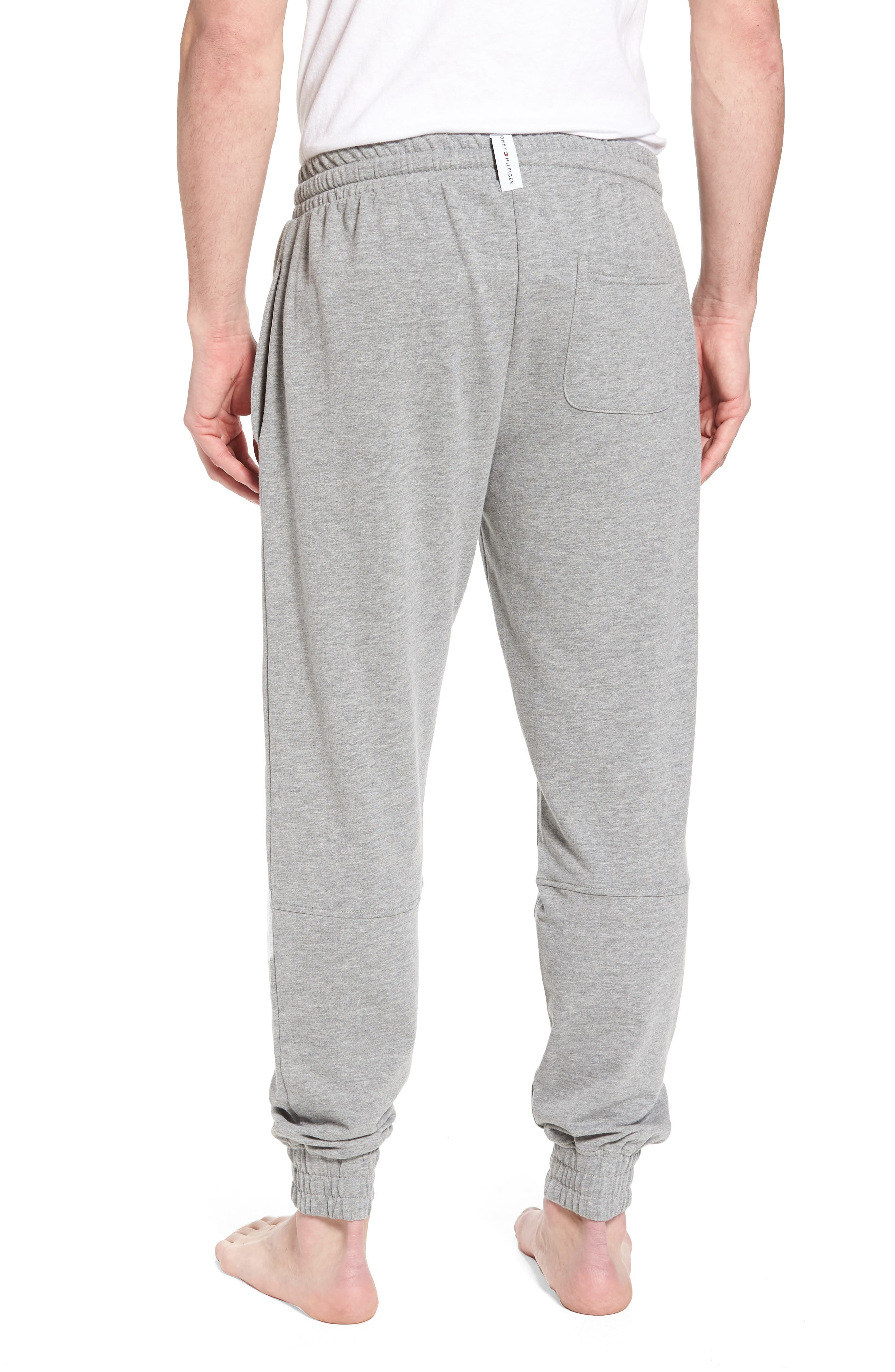 Jogger Lounge Pants,                             Alternate thumbnail 2, color,                             Grey Heather