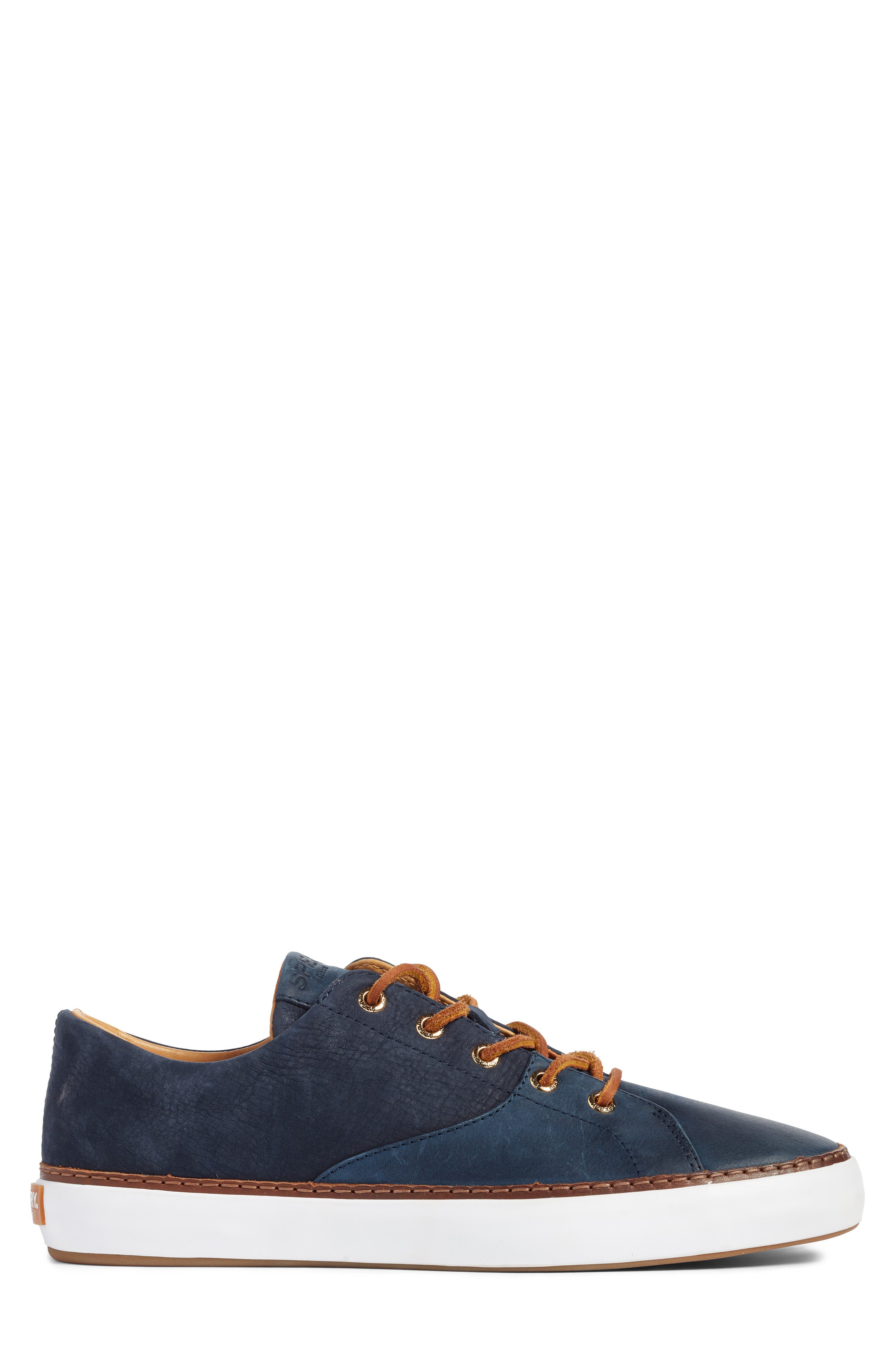 Gold Cup Haven Sneaker,                             Alternate thumbnail 3, color,                             Navy Leather