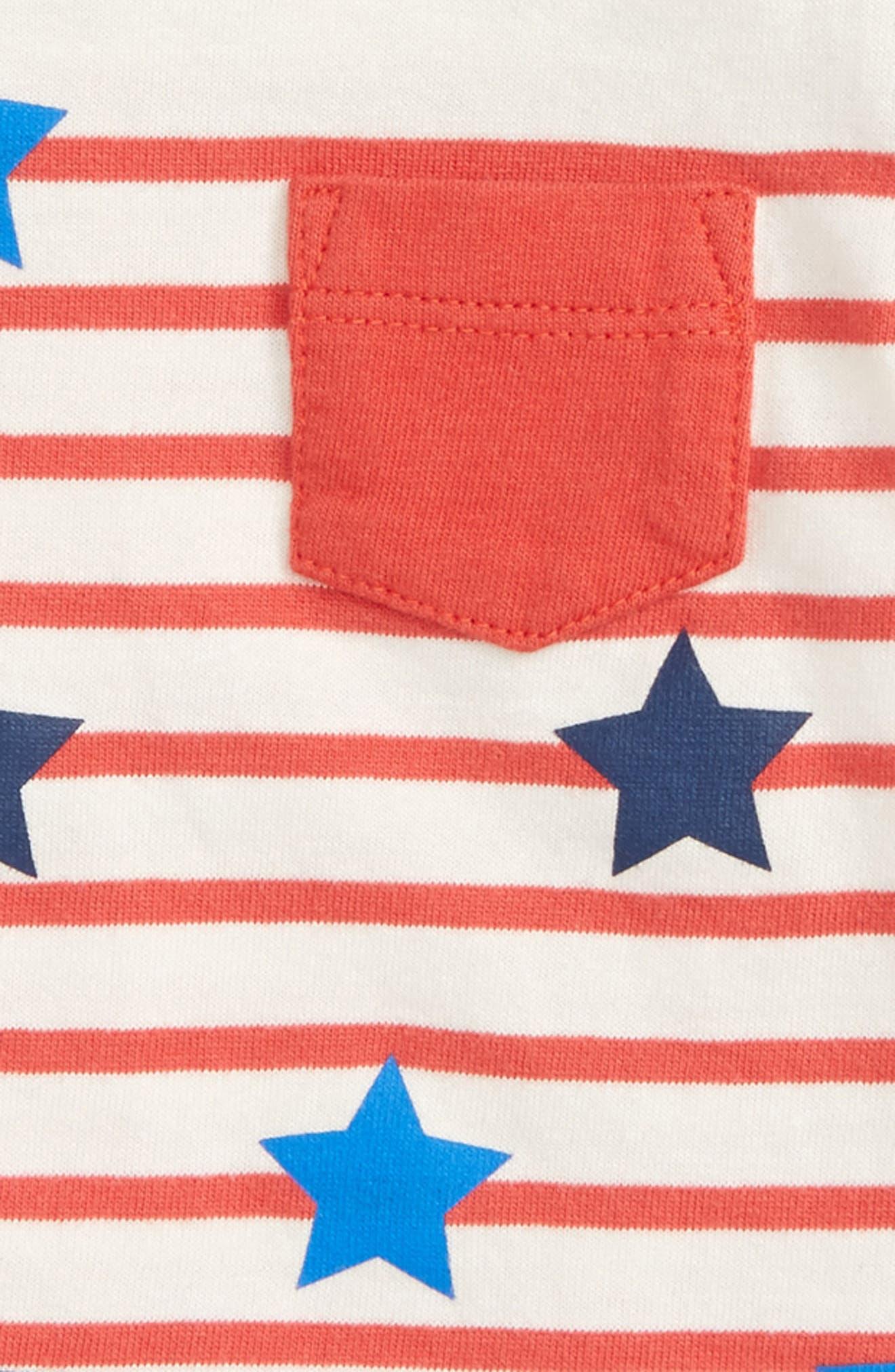 Alternate Image 2  - Mini Boden Fun Breton T-Shirt (Baby Boys & Toddler Boys)