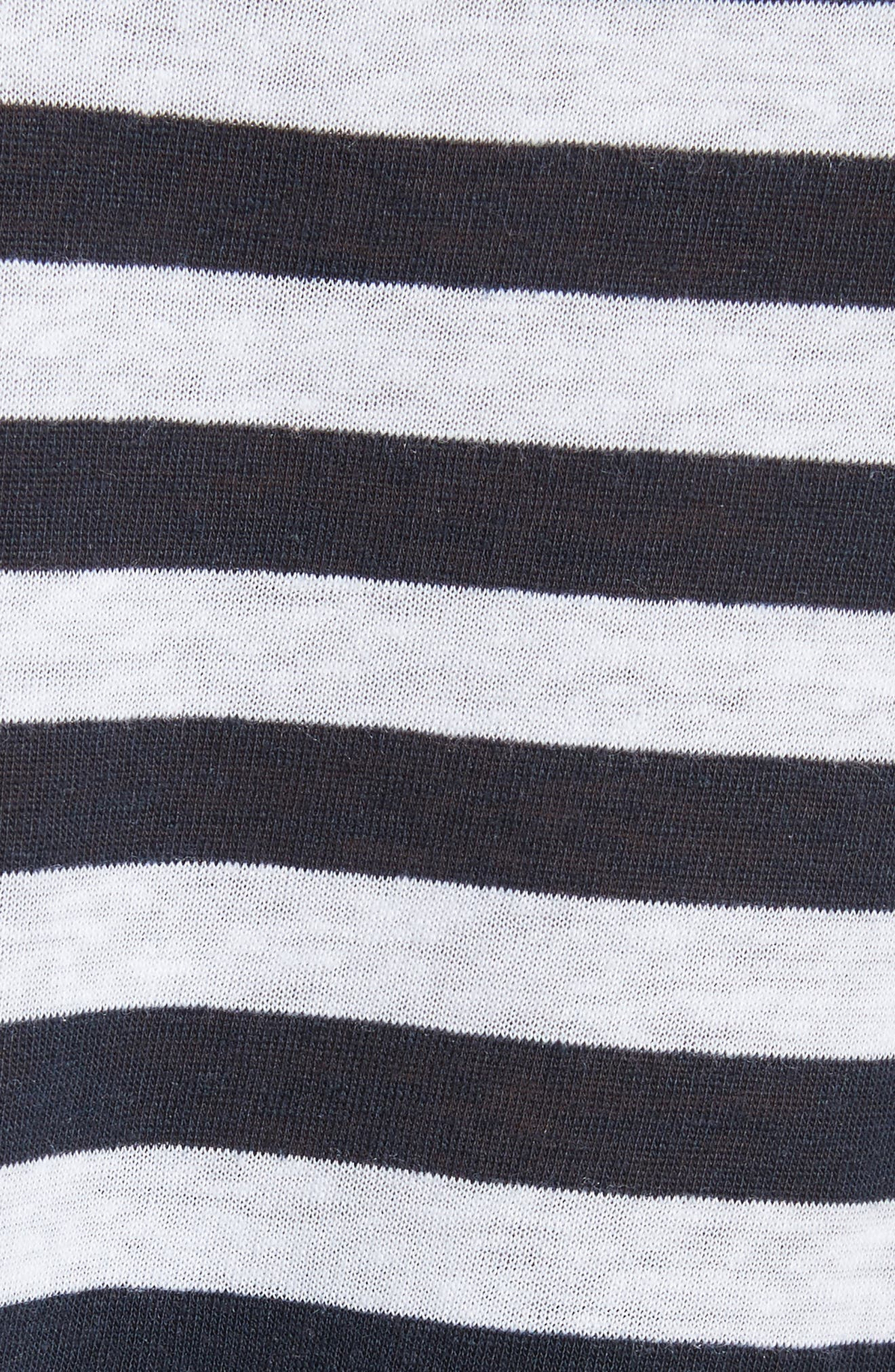 Laila Stripe Camisole,                             Alternate thumbnail 5, color,                             Navy/ White