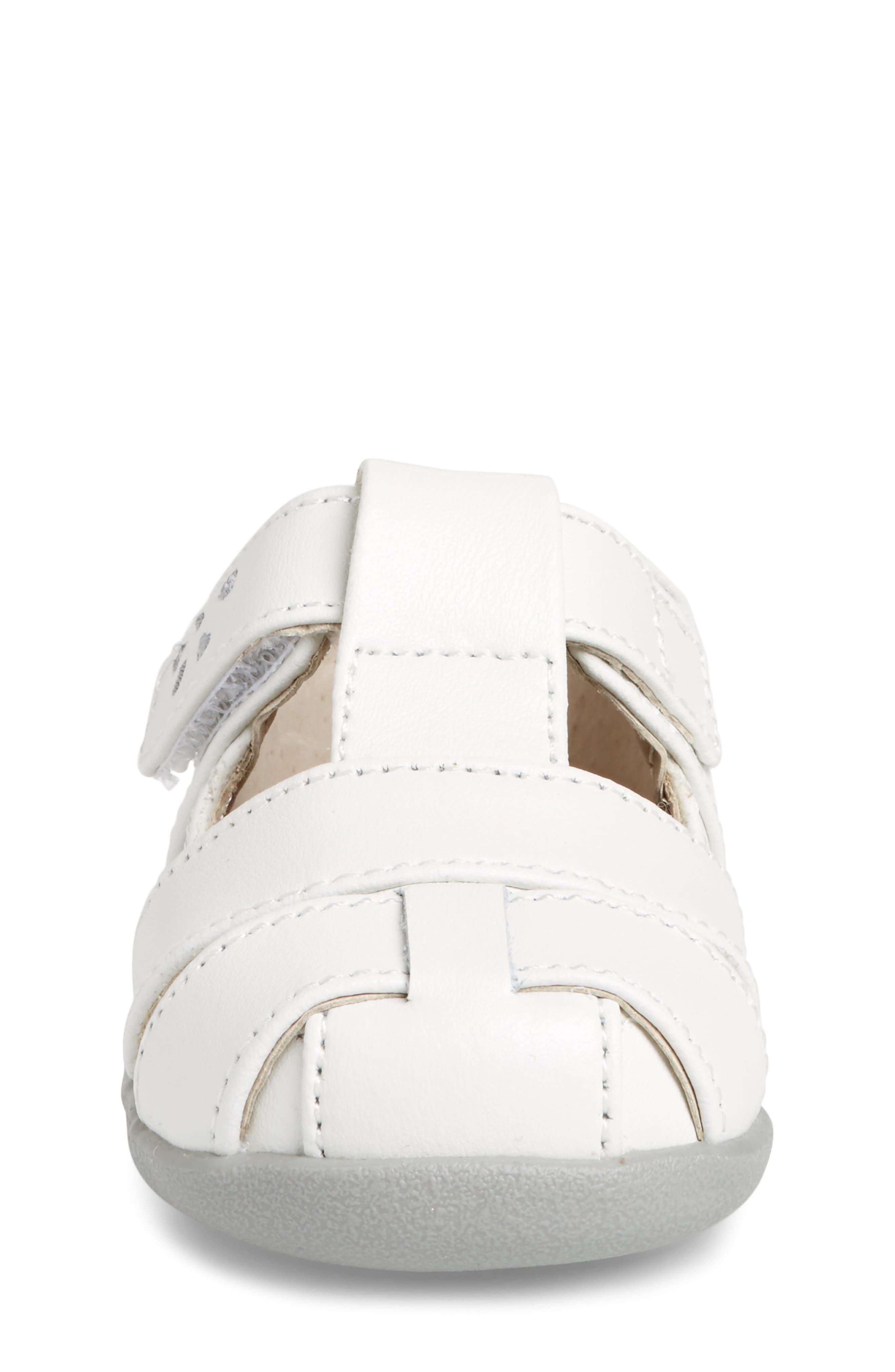 Brook III Sandal,                             Alternate thumbnail 4, color,                             White