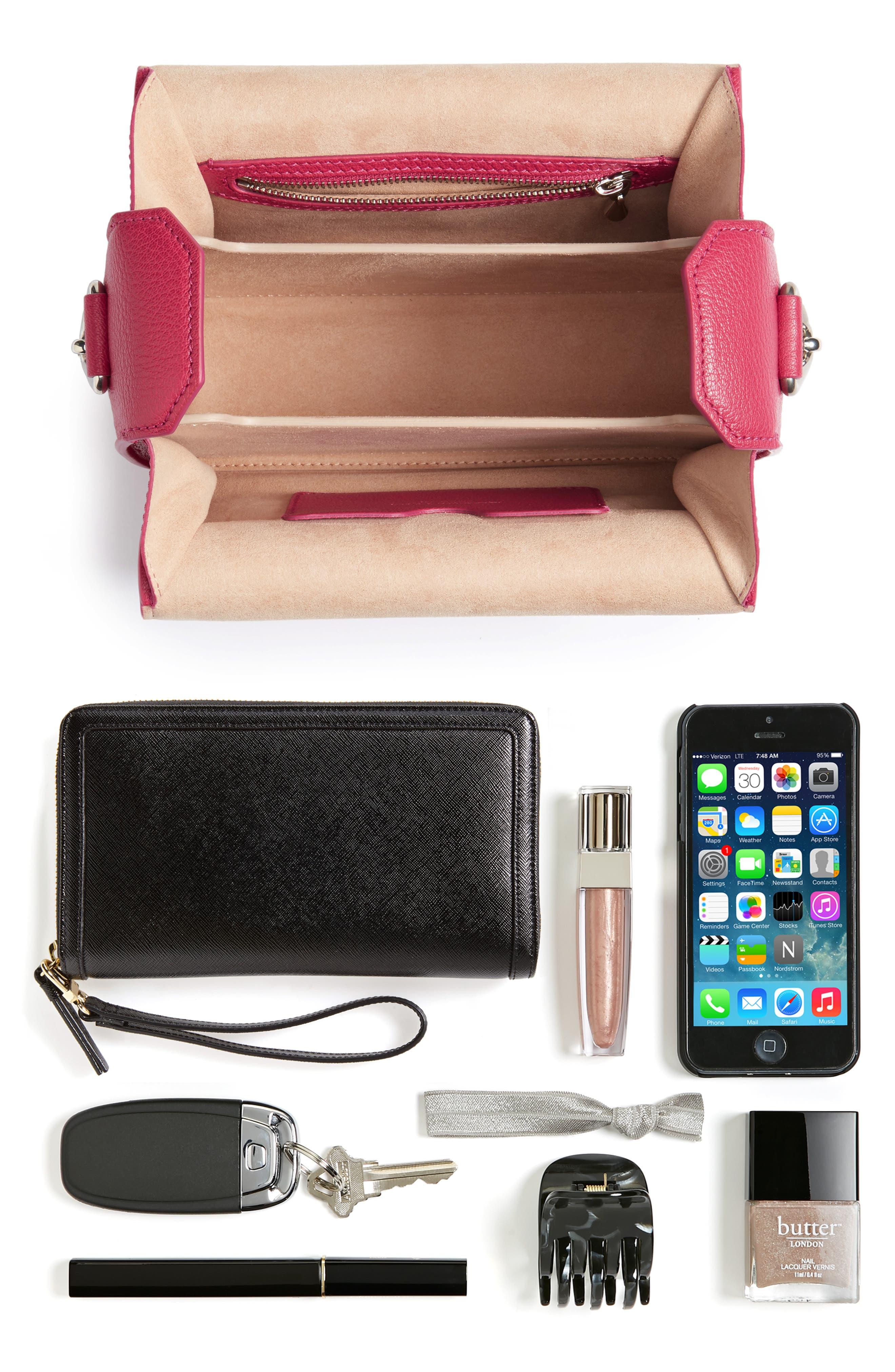 Alternate Image 6  - Alexander McQueen Leather Box Bag