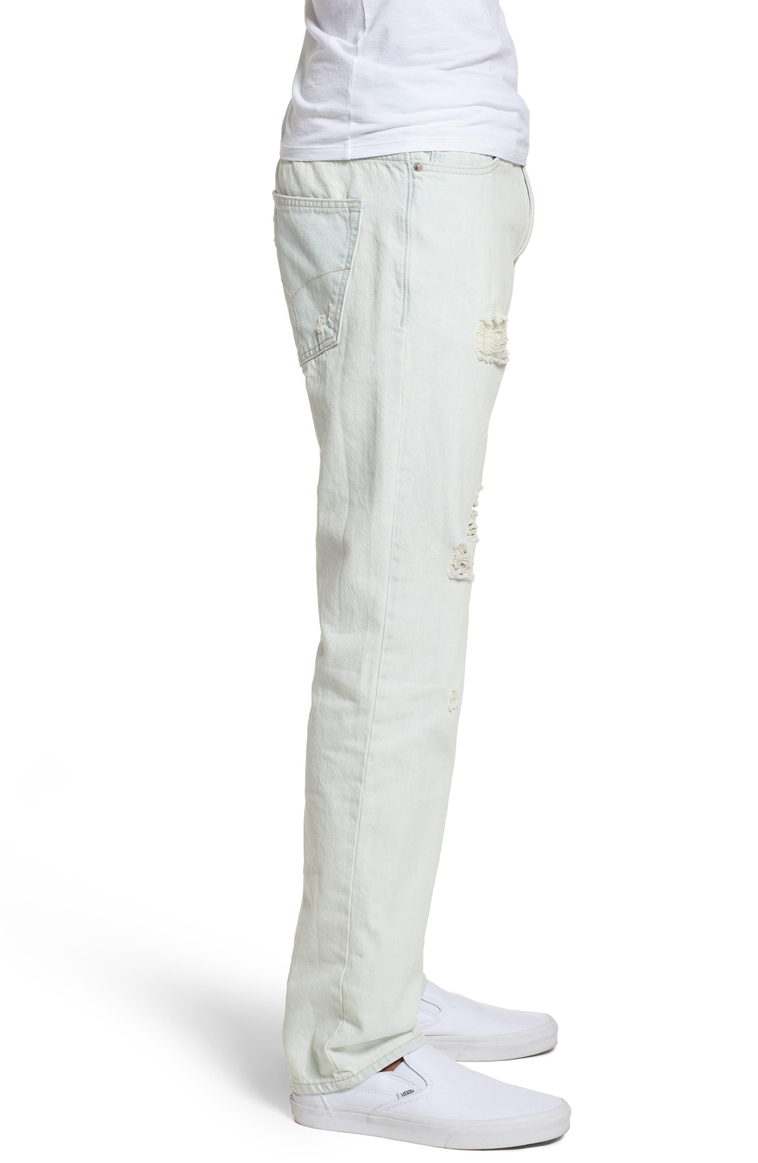 Slim Jeans,                             Alternate thumbnail 3, color,                             Favor Blue