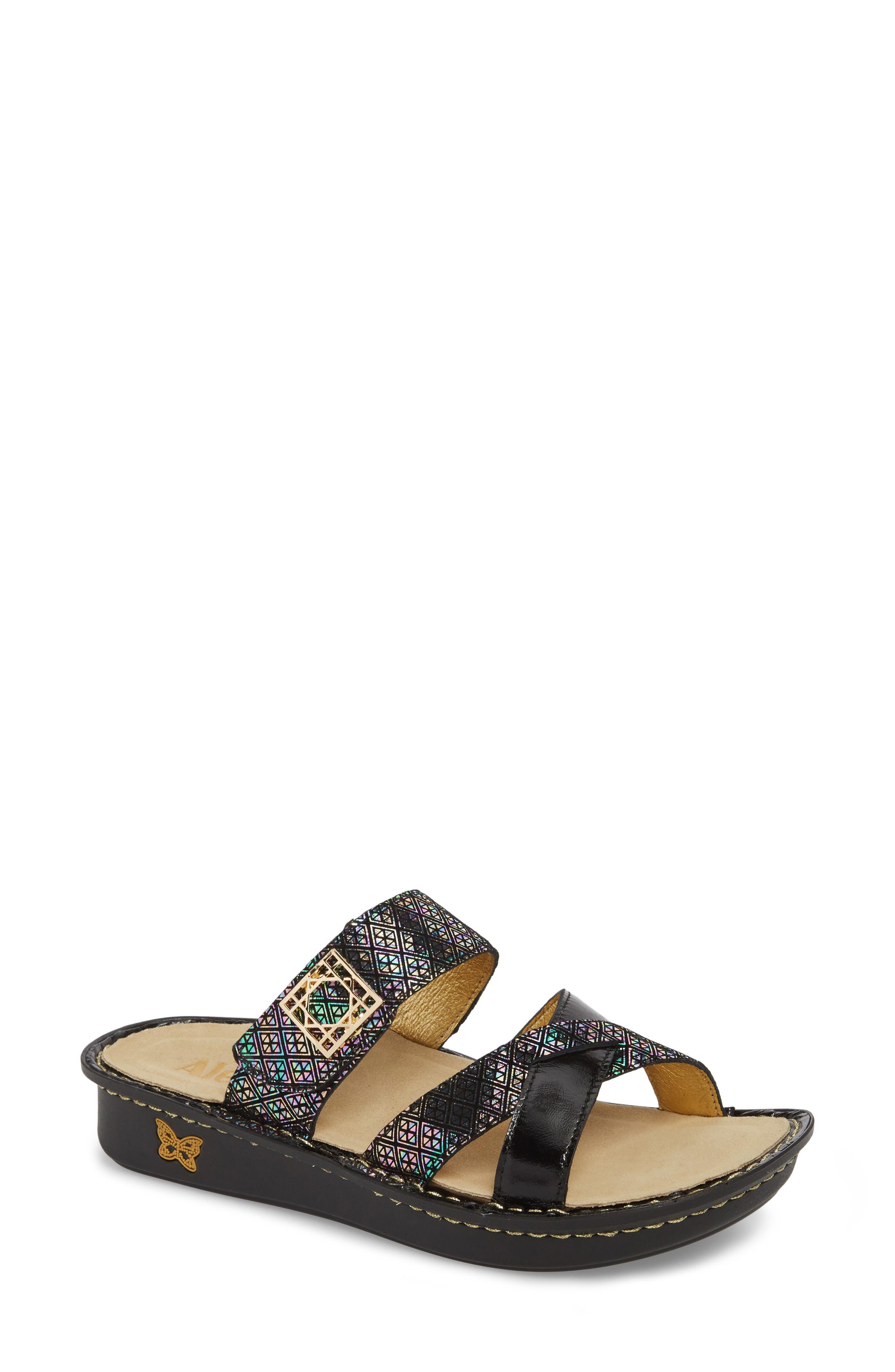 by PG Lite Victoriah Slide Sandal,                         Main,                         color, Diamonds Forever Leather