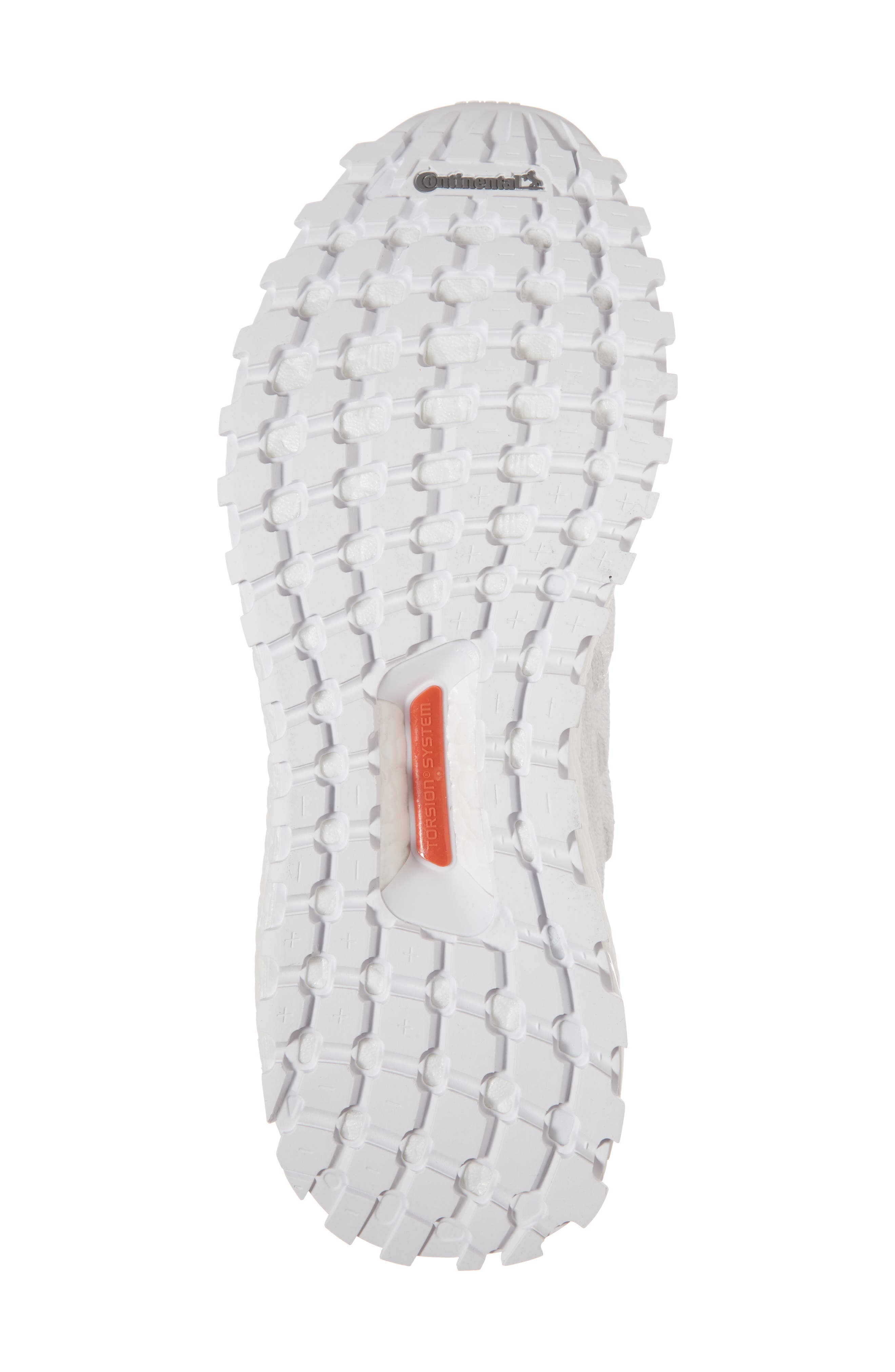 UltraBoost All Terrain Water Resistant Running Shoe,                             Alternate thumbnail 6, color,                             Non-Dyed White