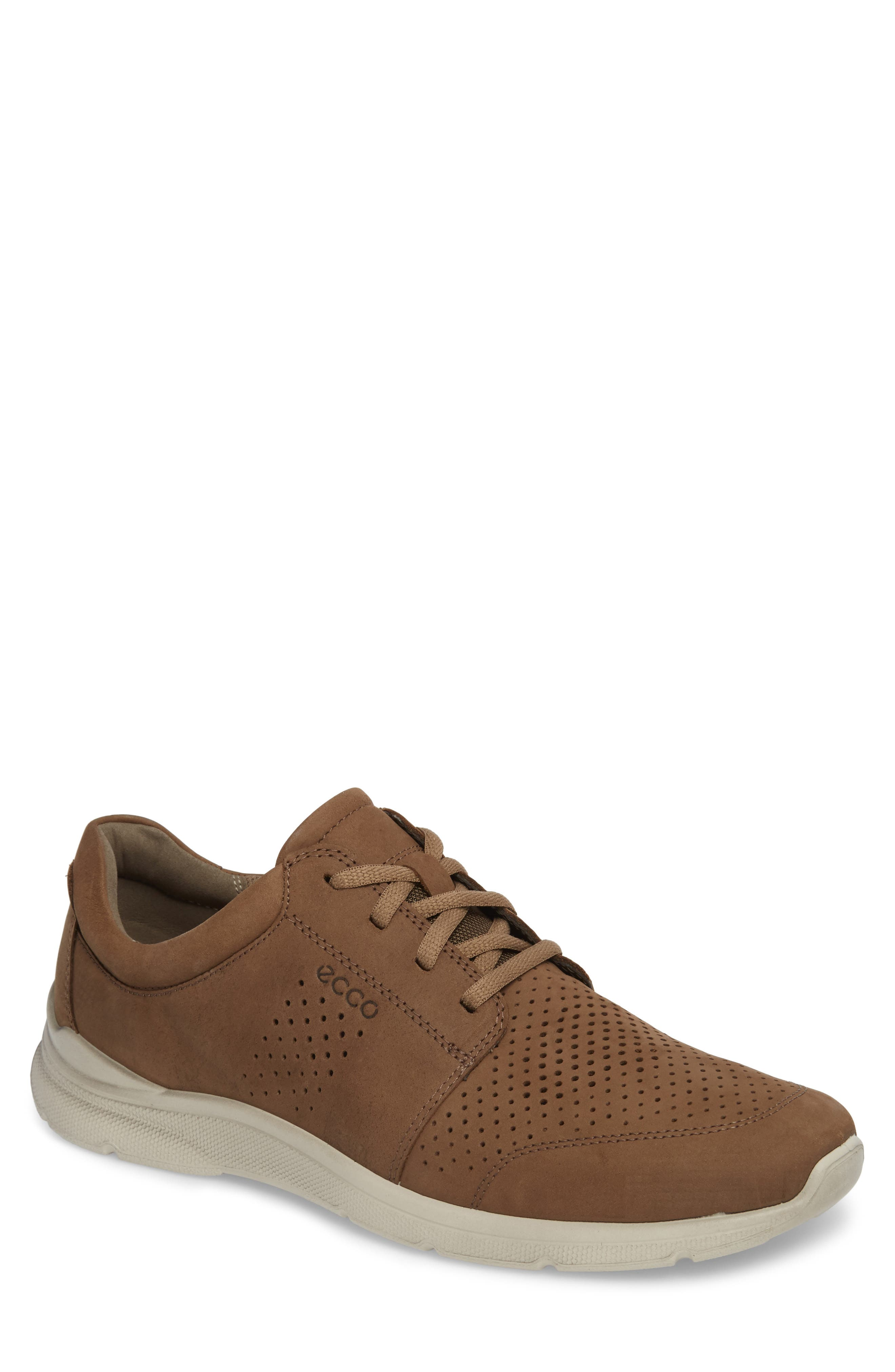 Irving Lace-Up Sneaker,                         Main,                         color, Birch Leather