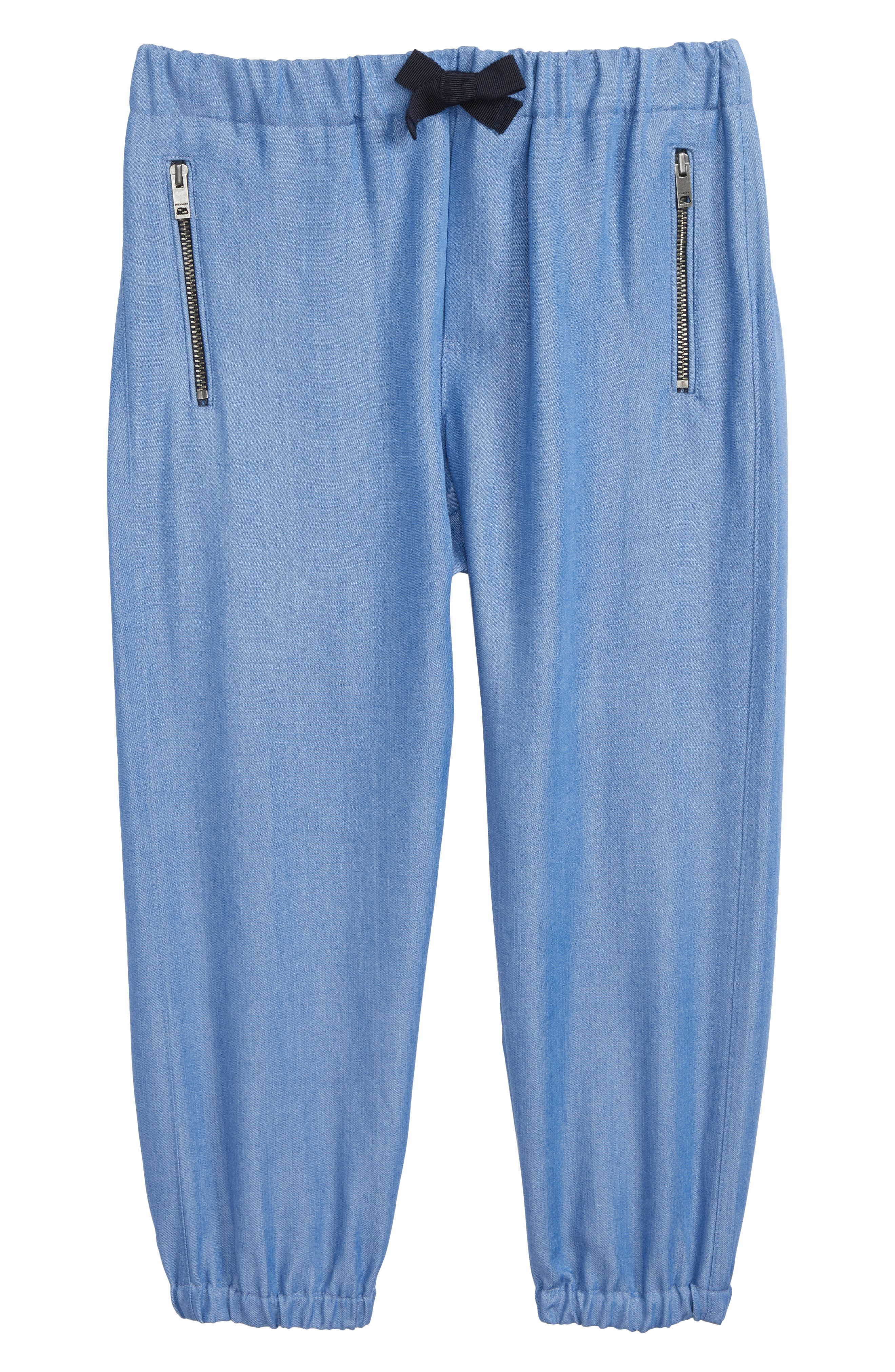 Phillie Chambray Pants,                         Main,                         color, Steel Blue