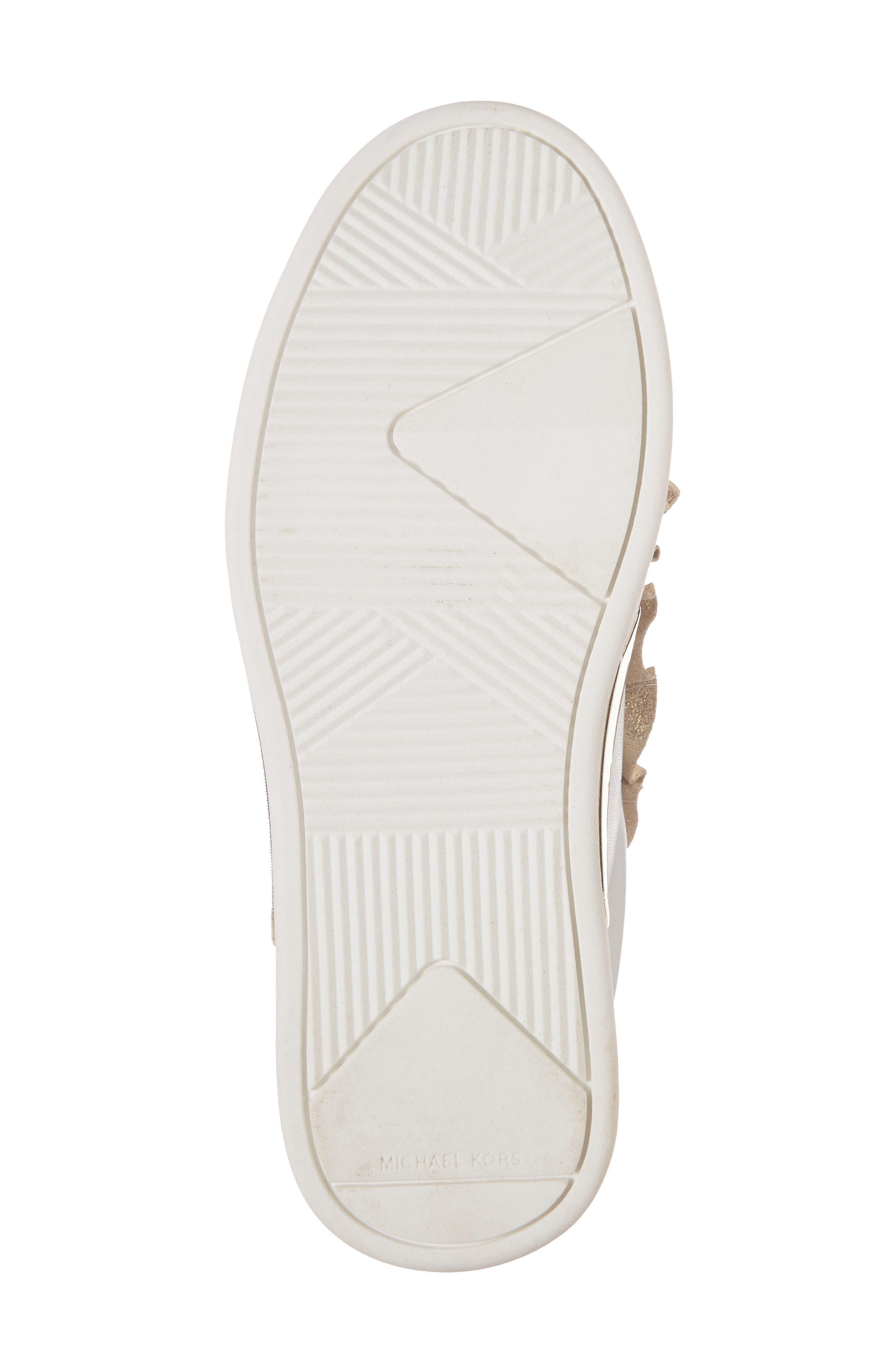 Guard Rail Sneaker,                             Alternate thumbnail 6, color,                             White