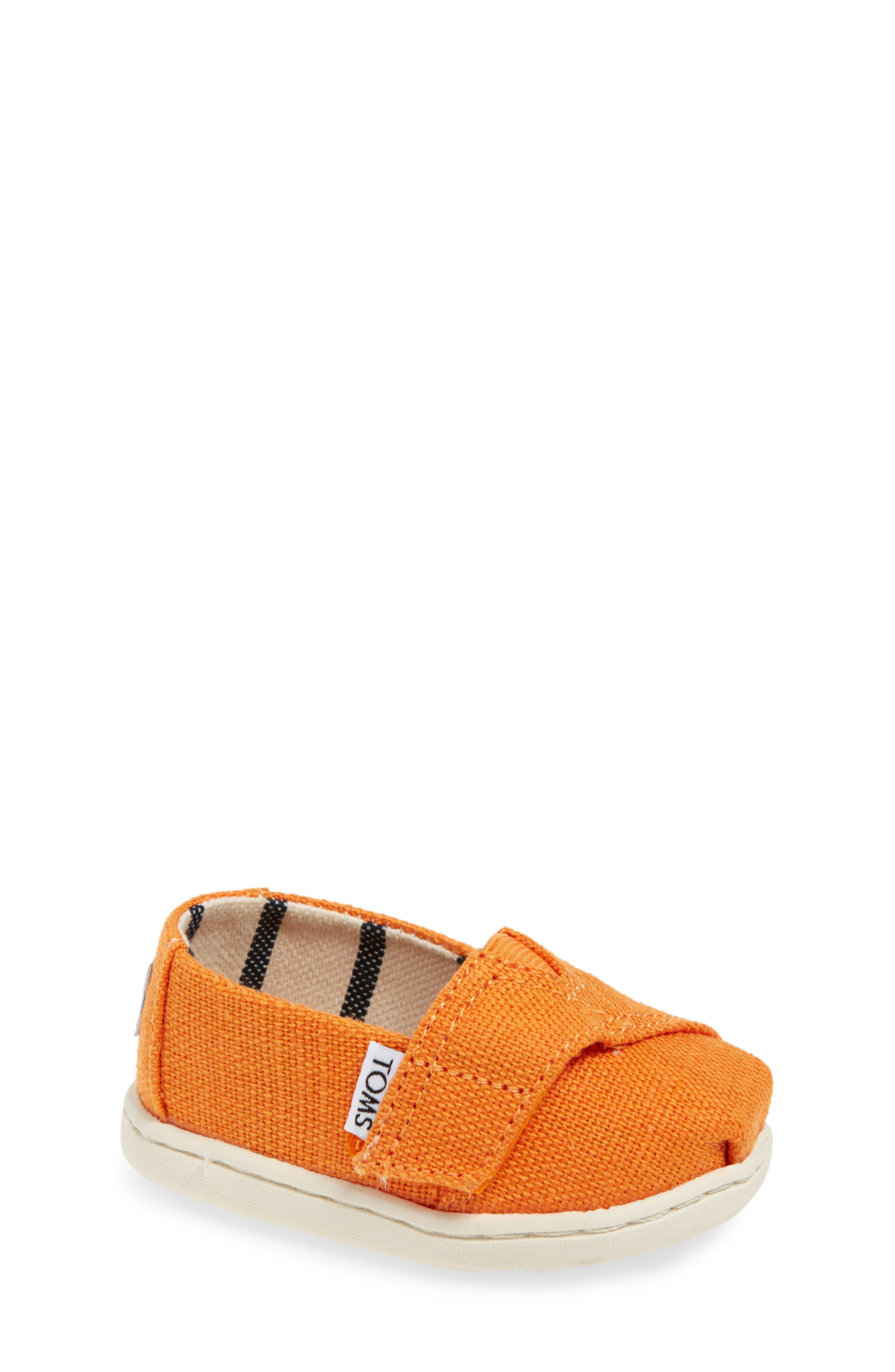 Chambray Slip-On,                             Main thumbnail 1, color,                             Russet Orange Heritage Canvas