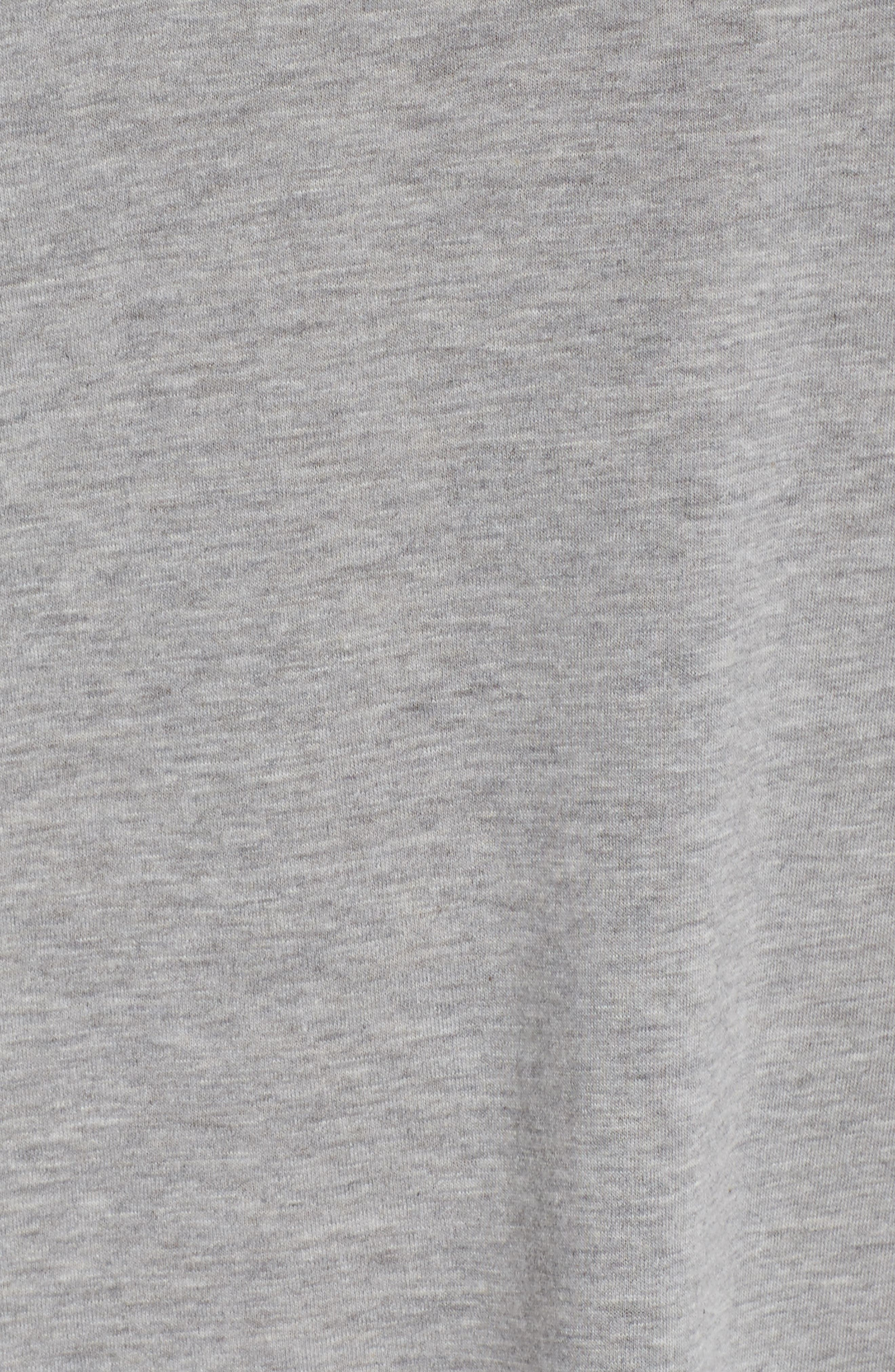 Jersey Chemise,                             Alternate thumbnail 5, color,                             H Grey