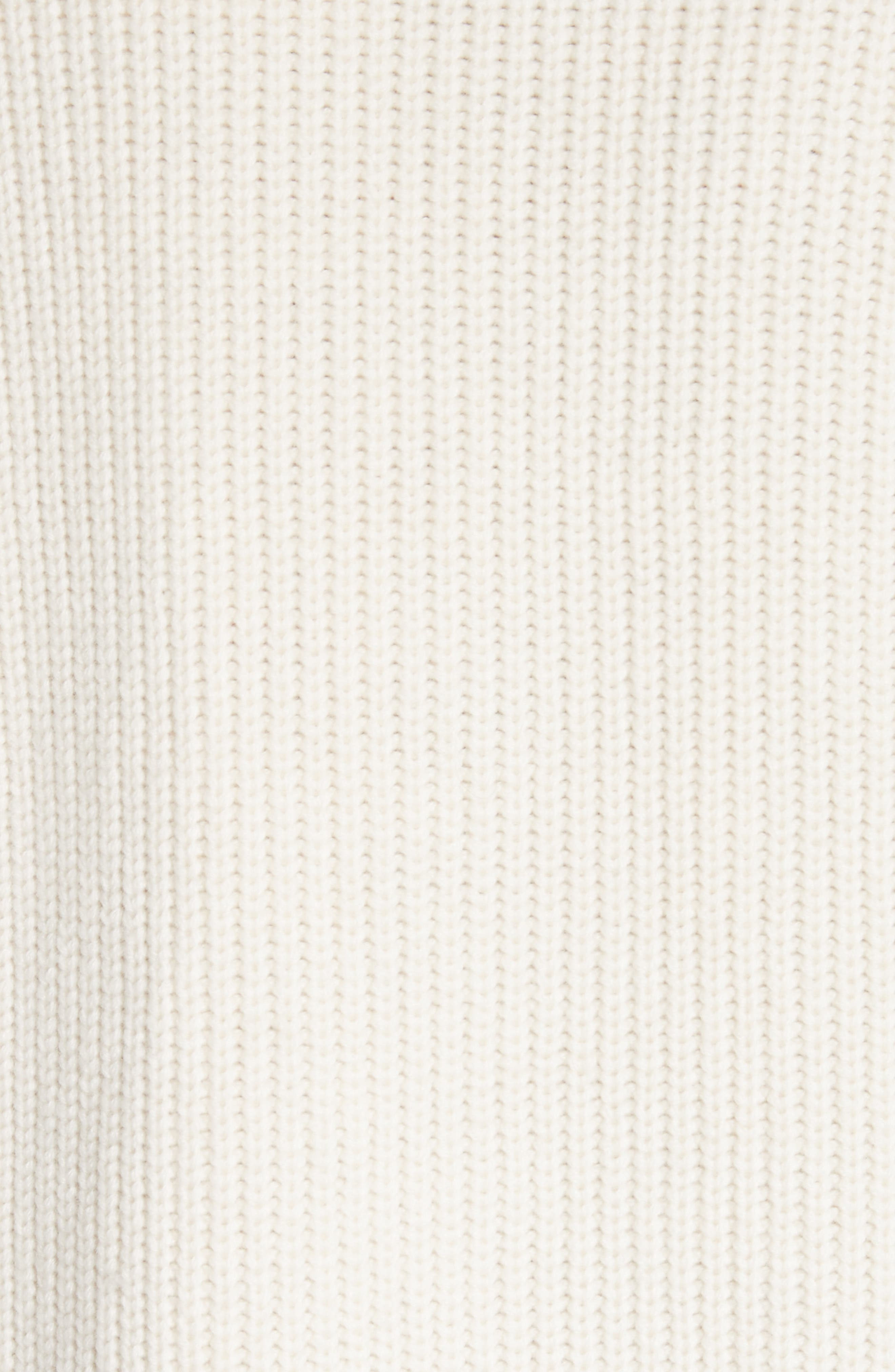 Knox 55 Wool & Cashmere Sweater,                             Alternate thumbnail 6, color,                             Natural White