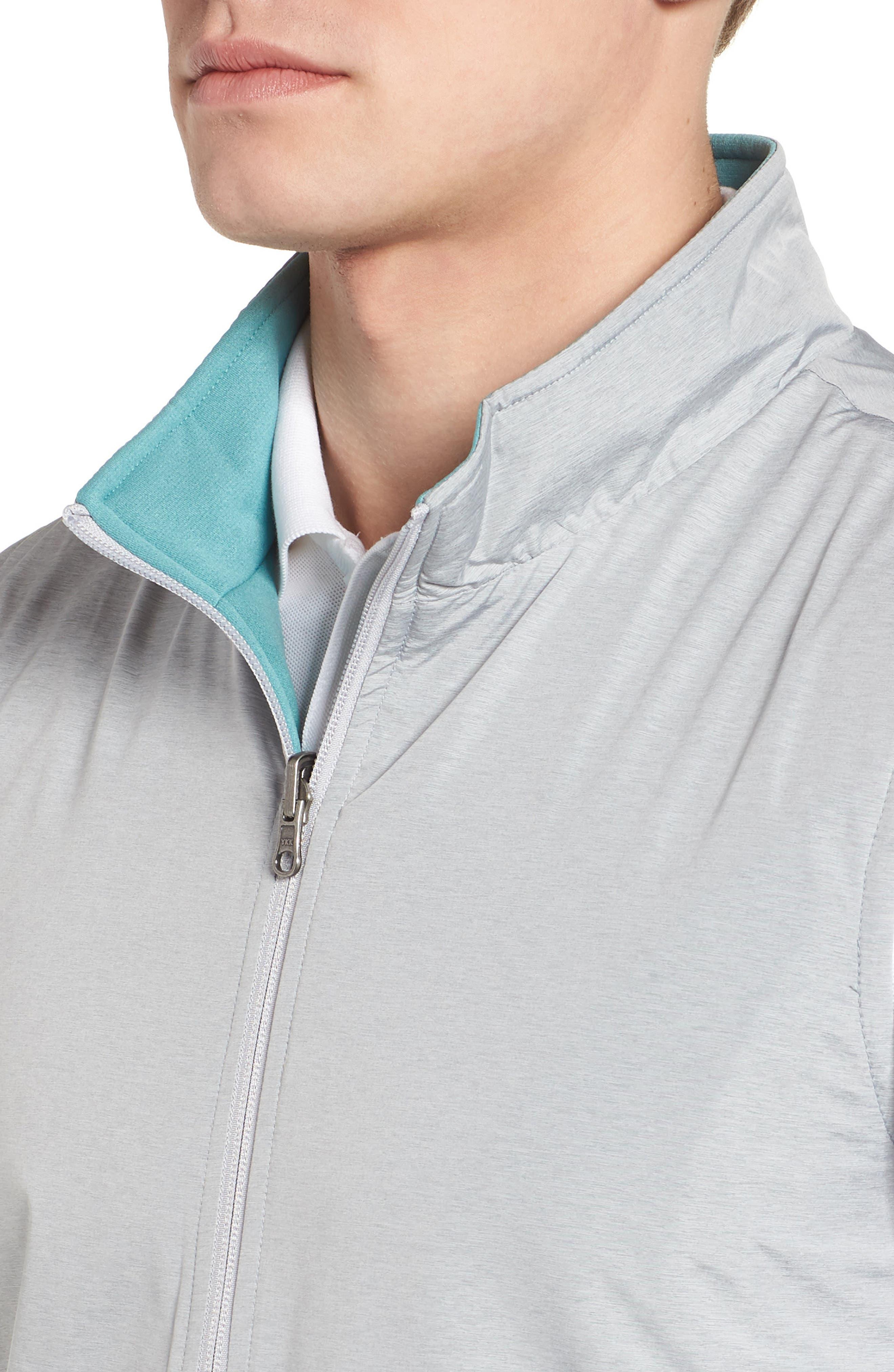 Carthage Reversible Vest,                             Alternate thumbnail 5, color,                             British Grey