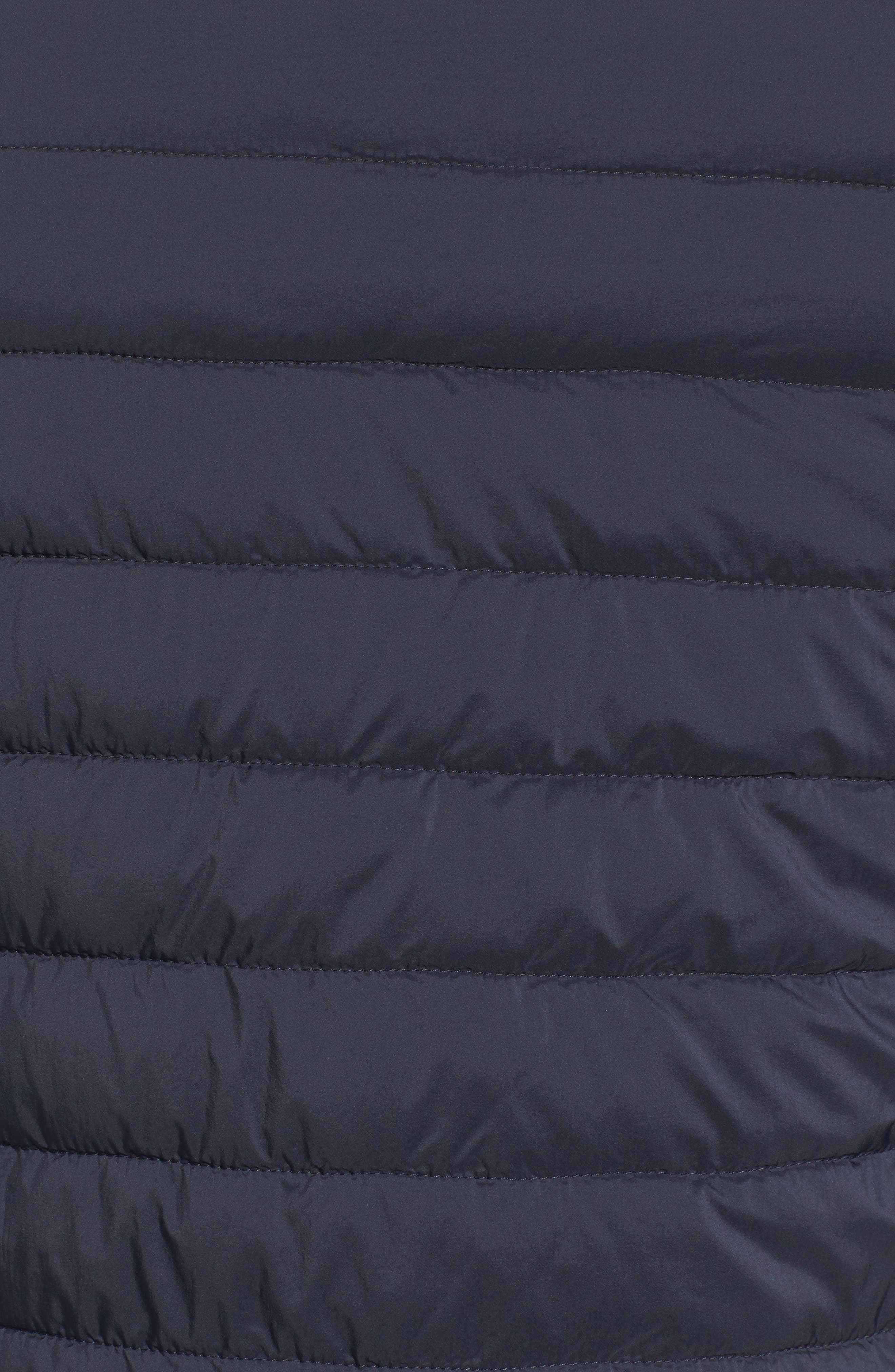 Quilted Baseball Jacket,                             Alternate thumbnail 5, color,                             Navy
