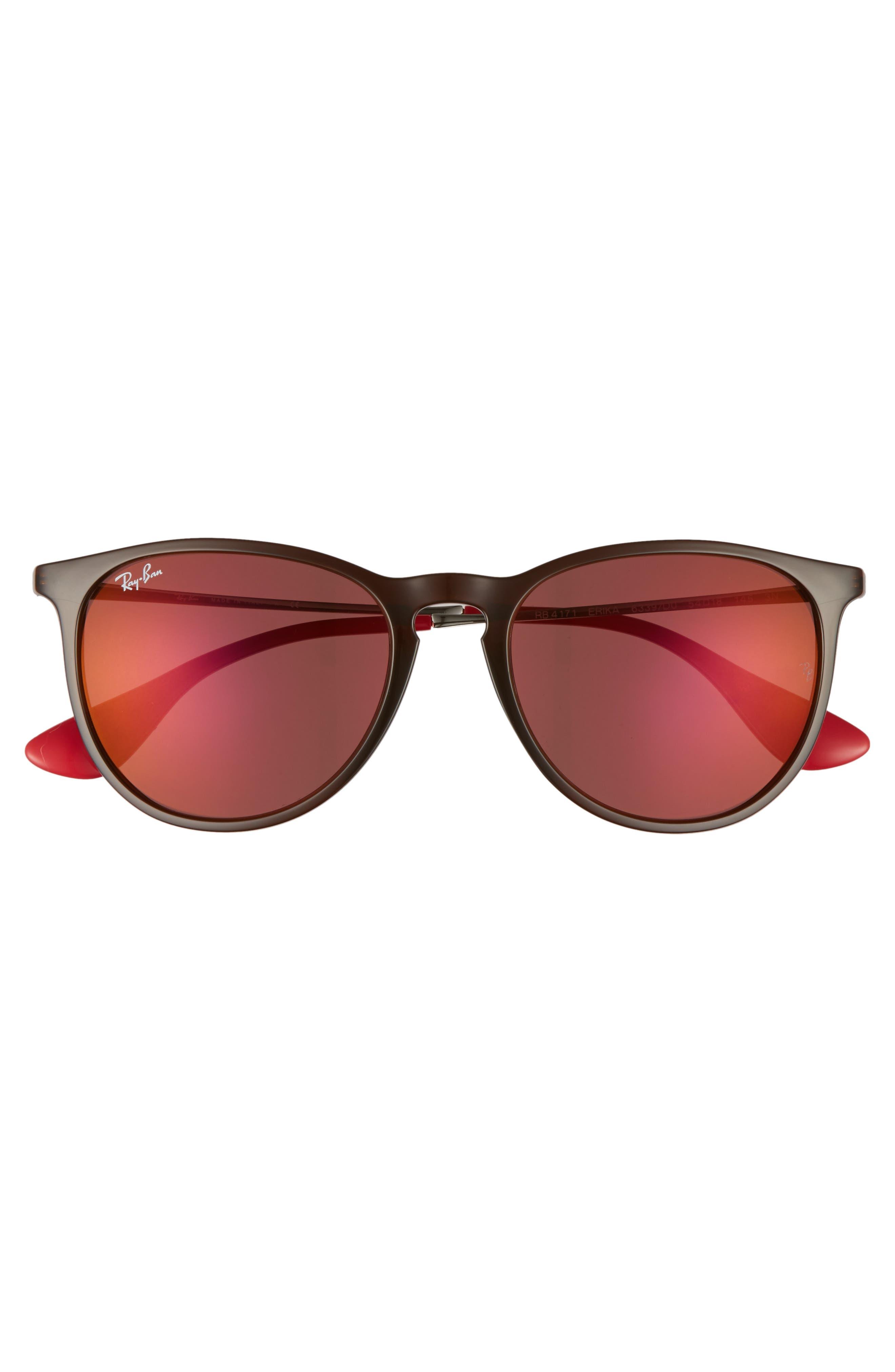 Erika Classic 54mm Sunglasses,                             Alternate thumbnail 2, color,                             Brown
