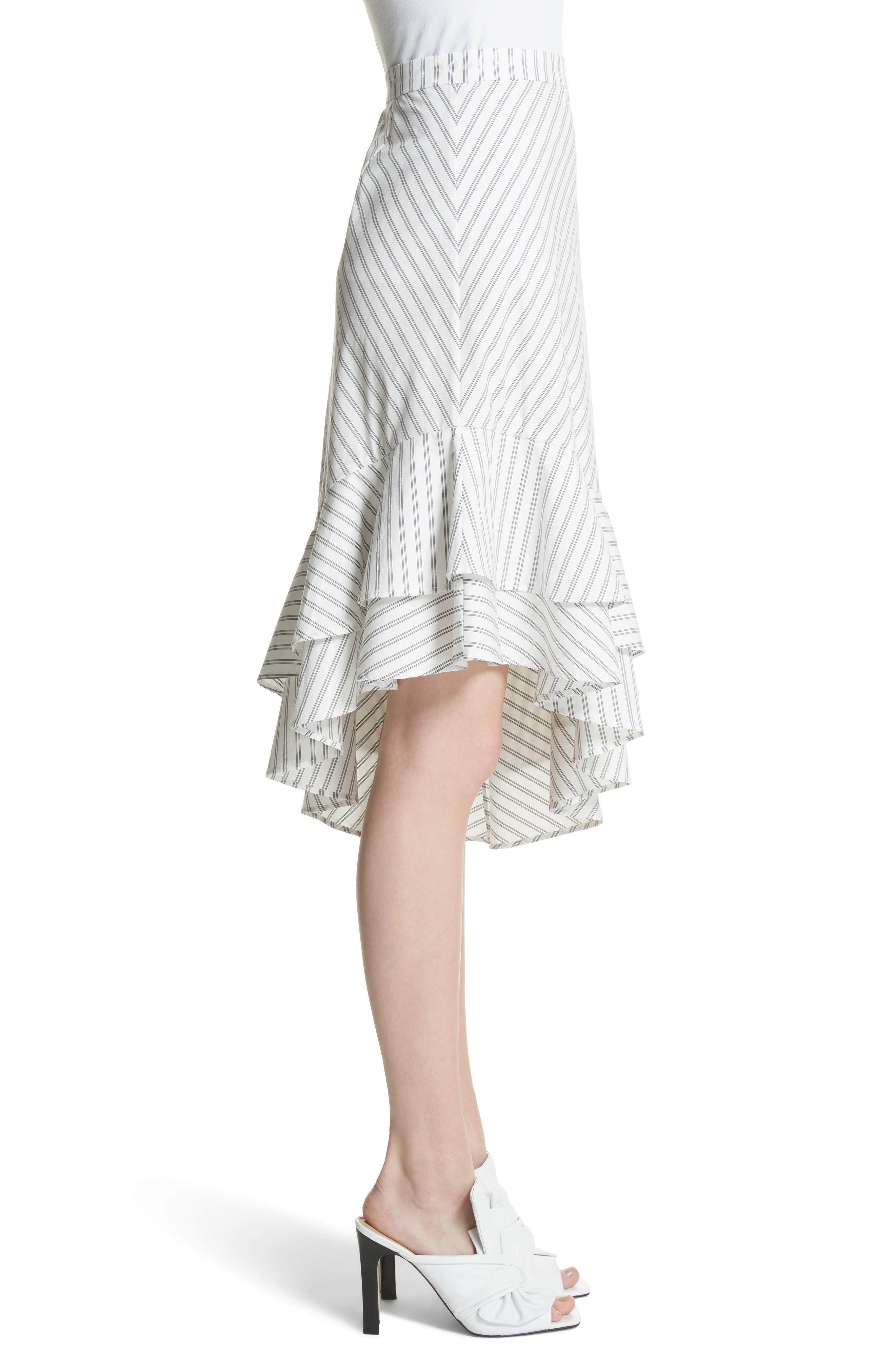Yenene Skirt,                             Alternate thumbnail 3, color,                             Porcelain