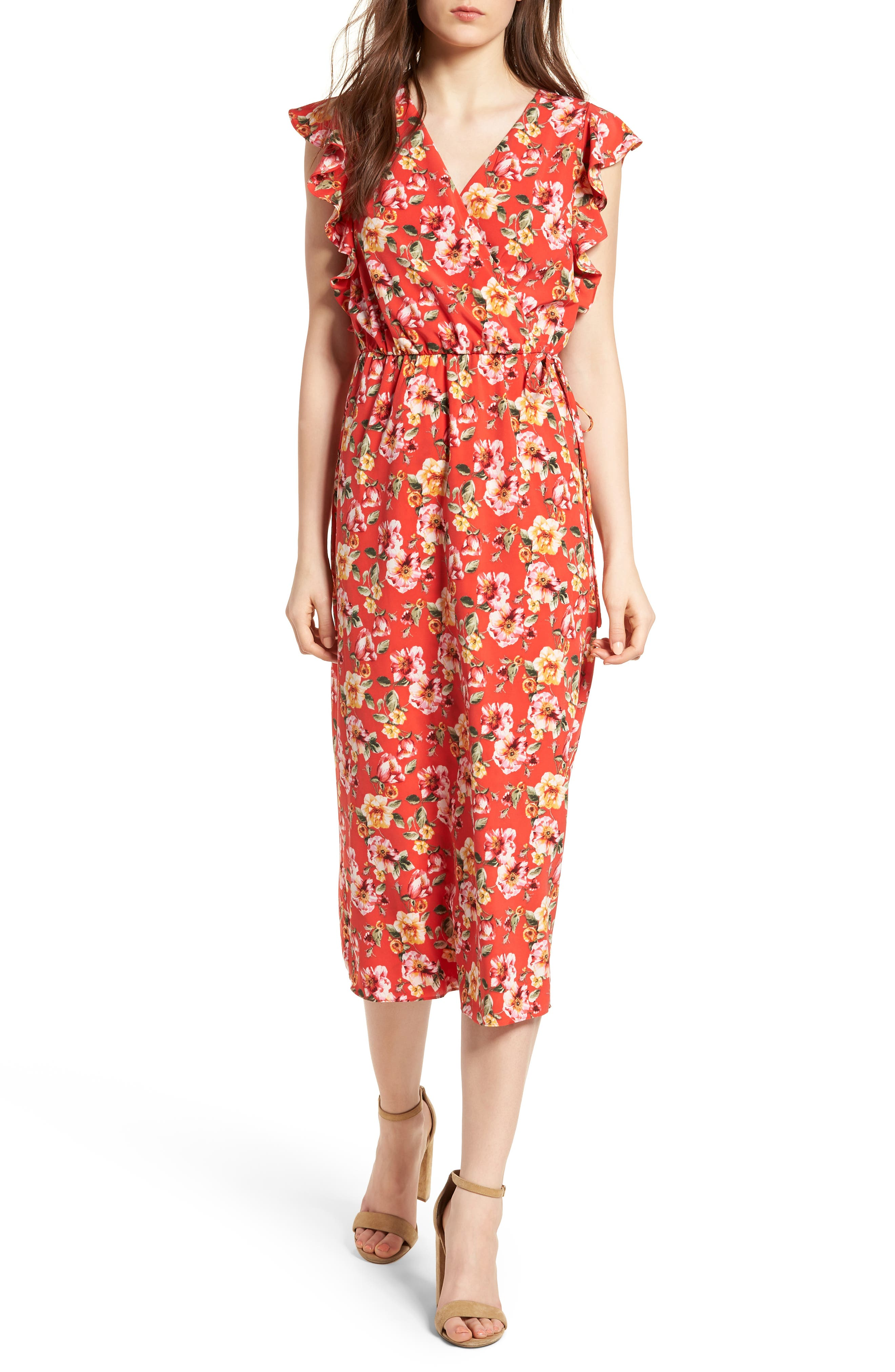 Soprano Wrap Midi Dress