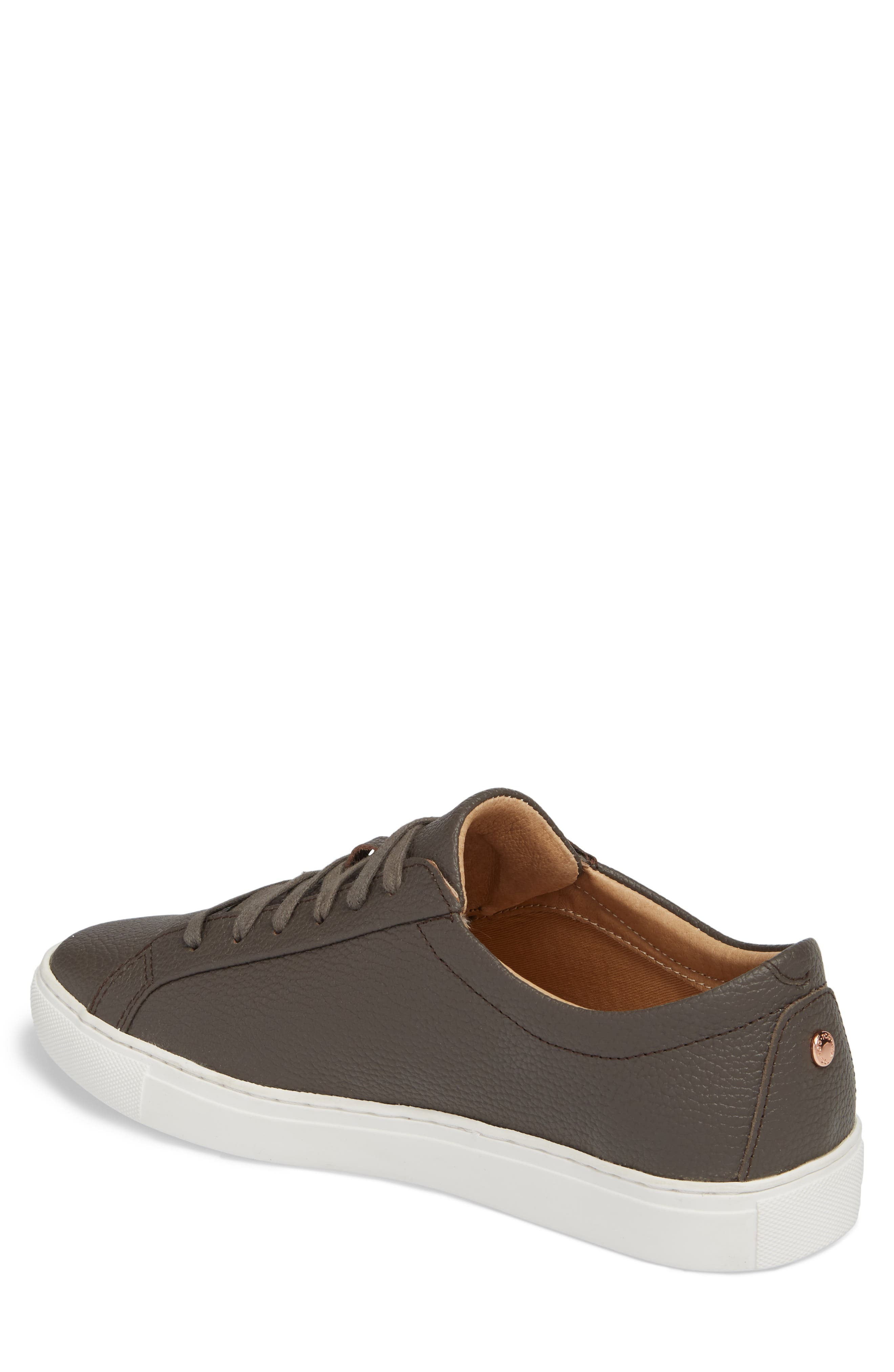 Kennedy Low Top Sneaker,                             Alternate thumbnail 2, color,                             Falcon Leather