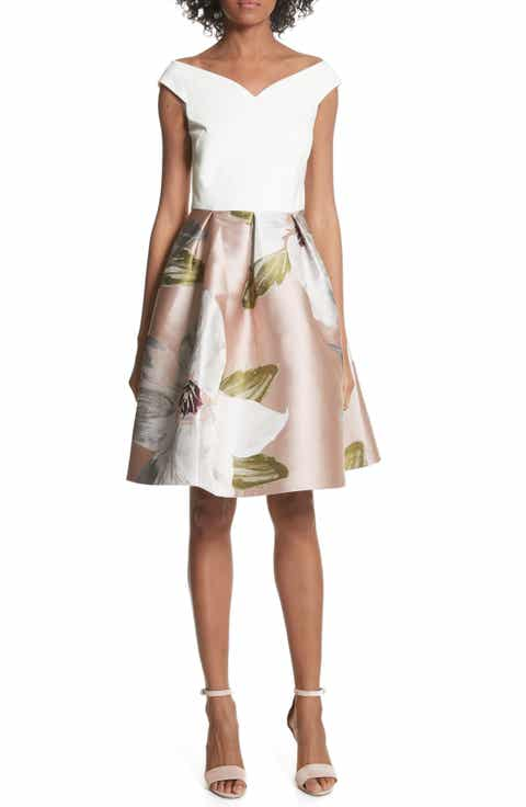 Ted Baker London Chatsworth Fit & Flare Dress