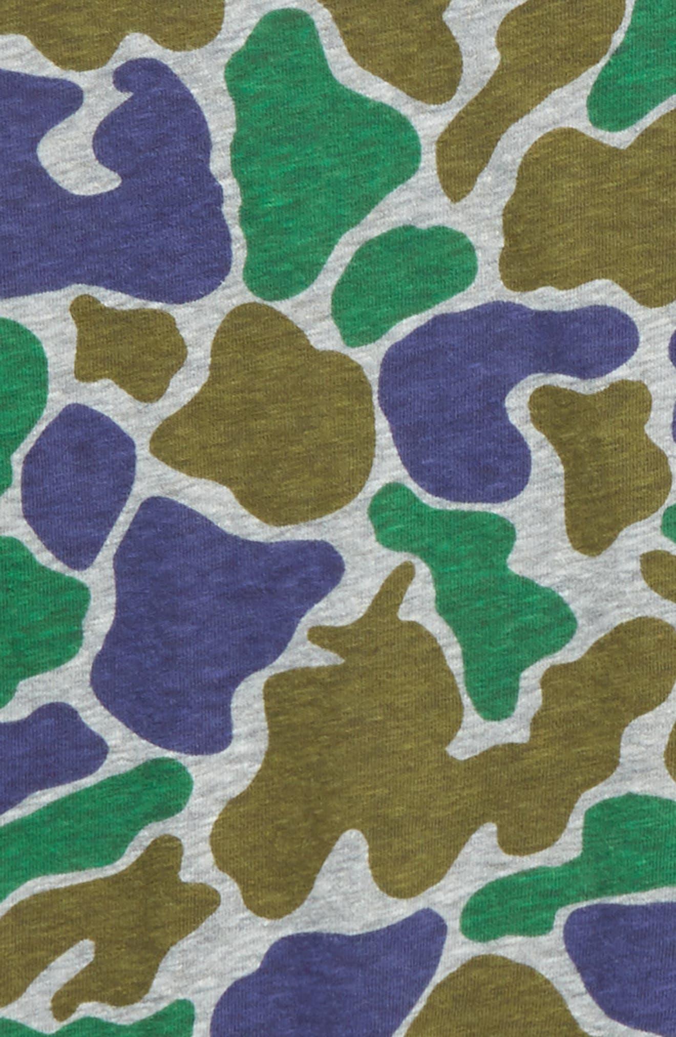 Camo T-Shirt,                             Alternate thumbnail 3, color,                             Boulder