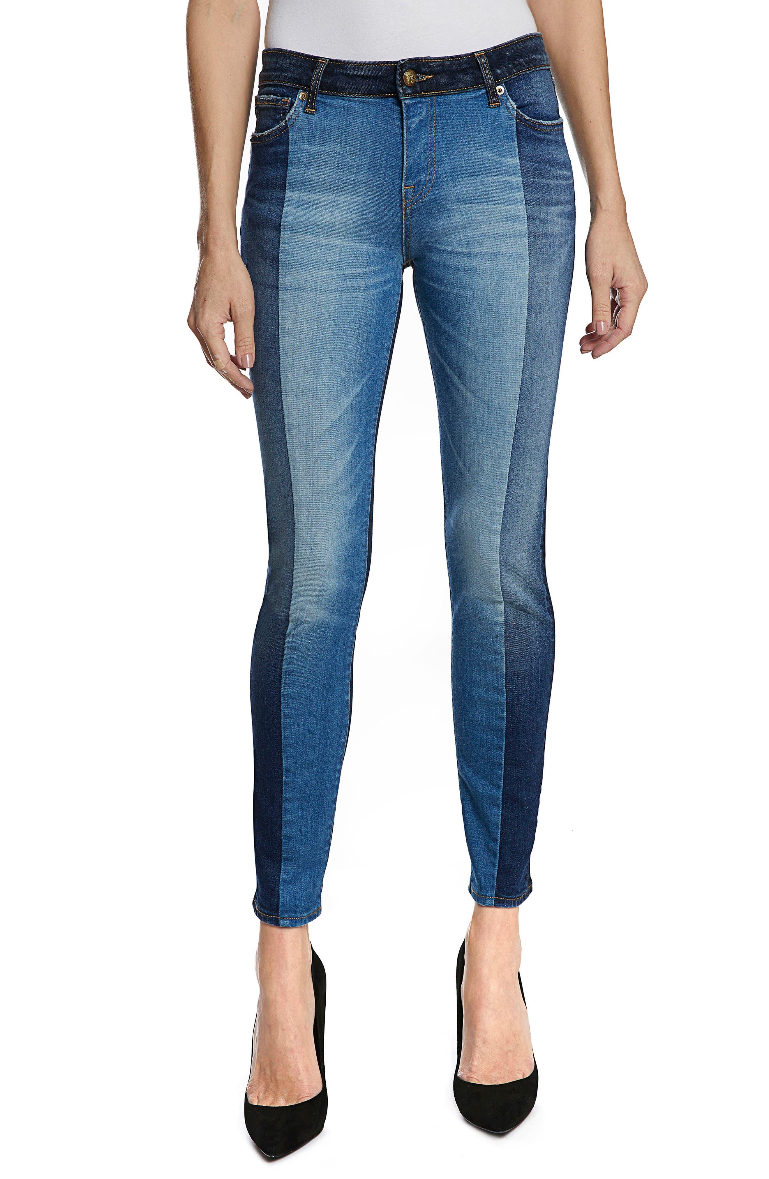 Camaro Ankle Skinny Jeans,                         Main,                         color, Indigo