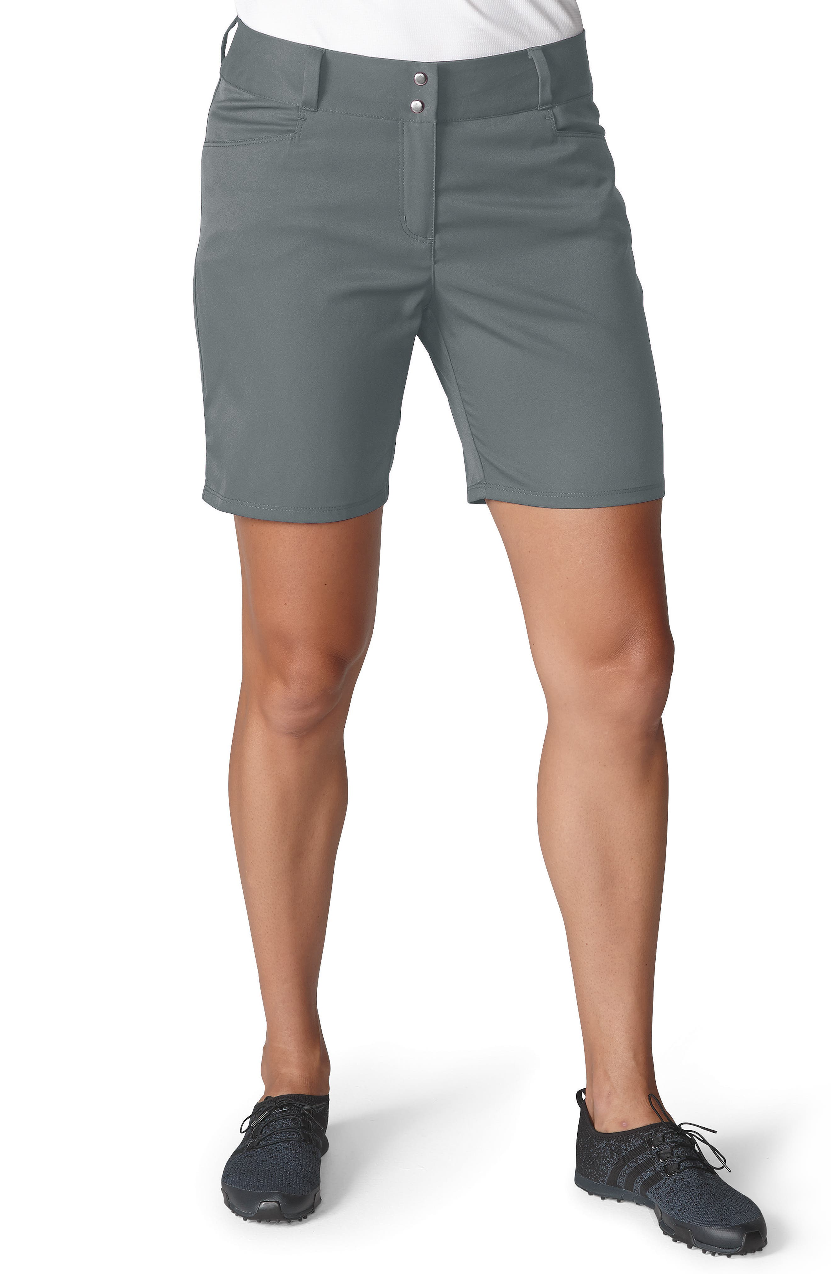 Essential Golf Shorts,                             Main thumbnail 1, color,                             Grey Three