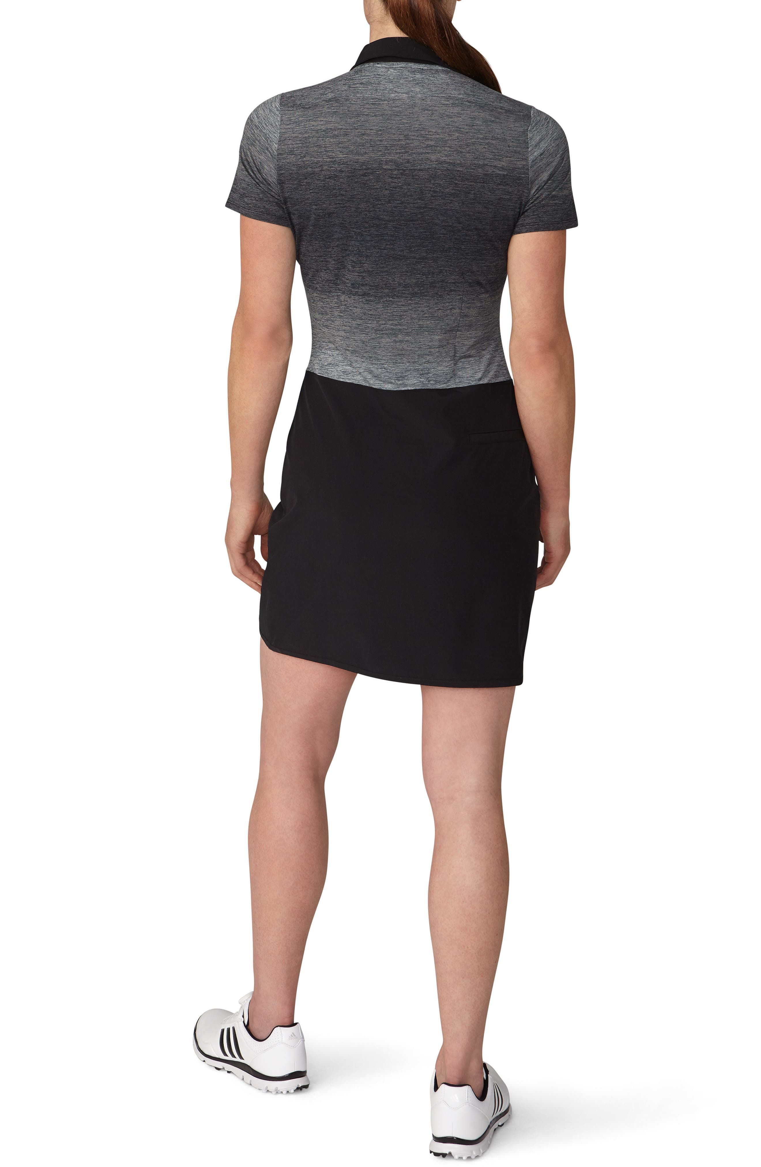 Rangewear Golf Dress,                             Alternate thumbnail 2, color,                             Black