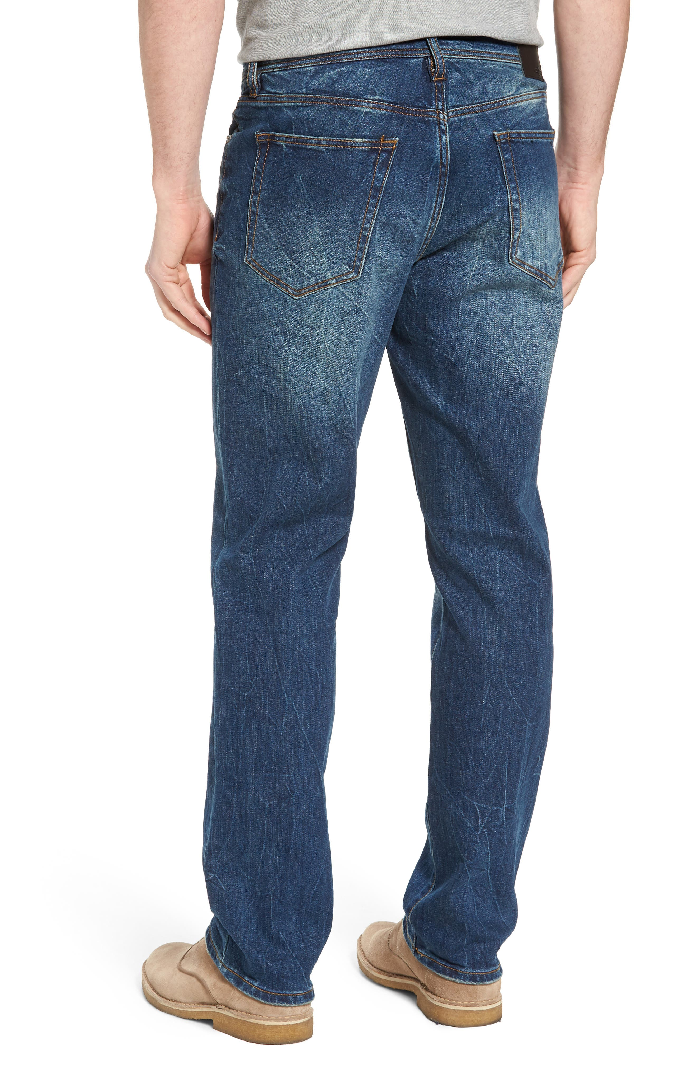 Jeans Co. Regent Relaxed Fit Jeans,                             Alternate thumbnail 2, color,                             Odessa Vintage Medium