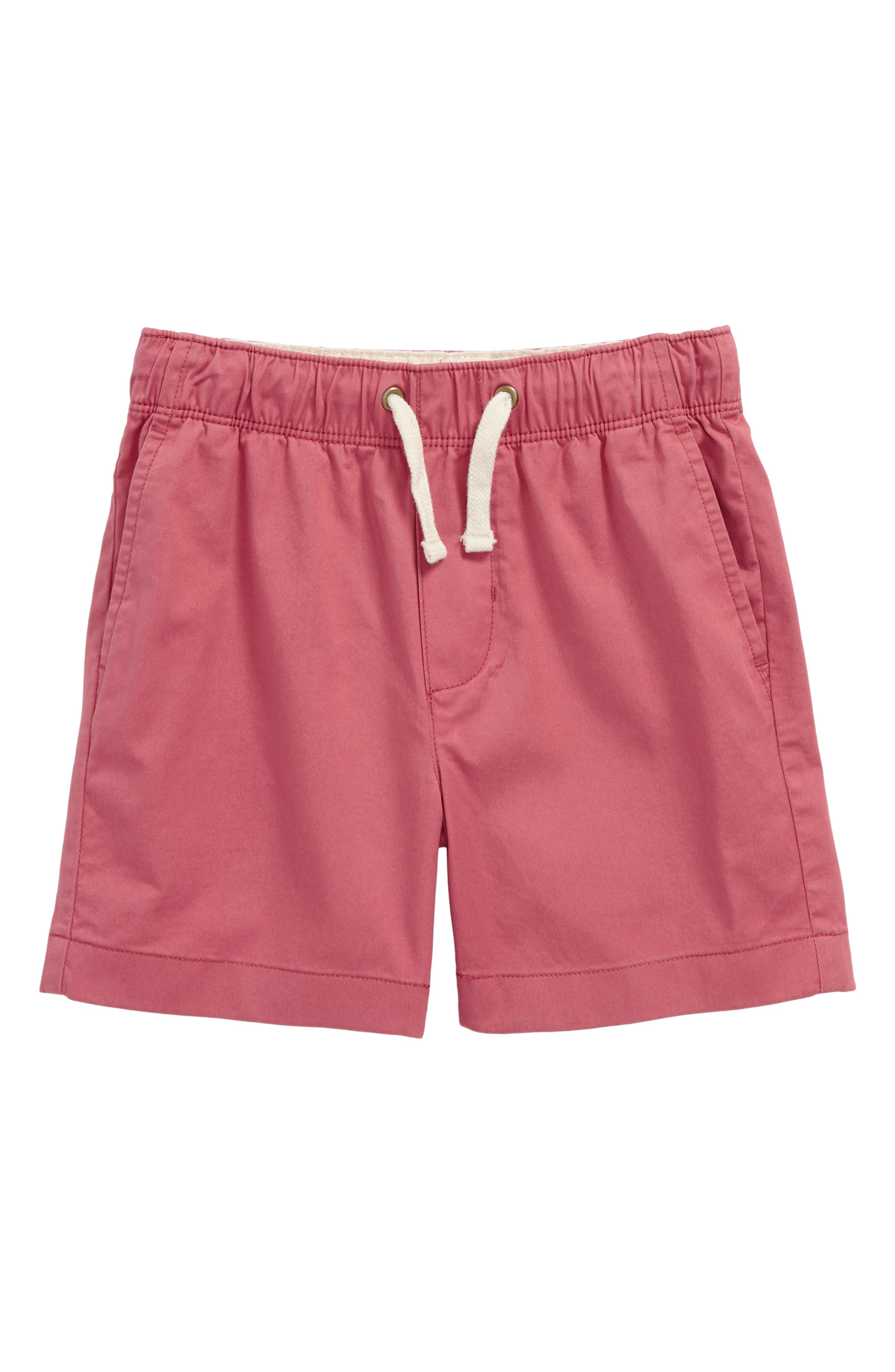 Tie Front Dock Shorts,                         Main,                         color, Pale Barn